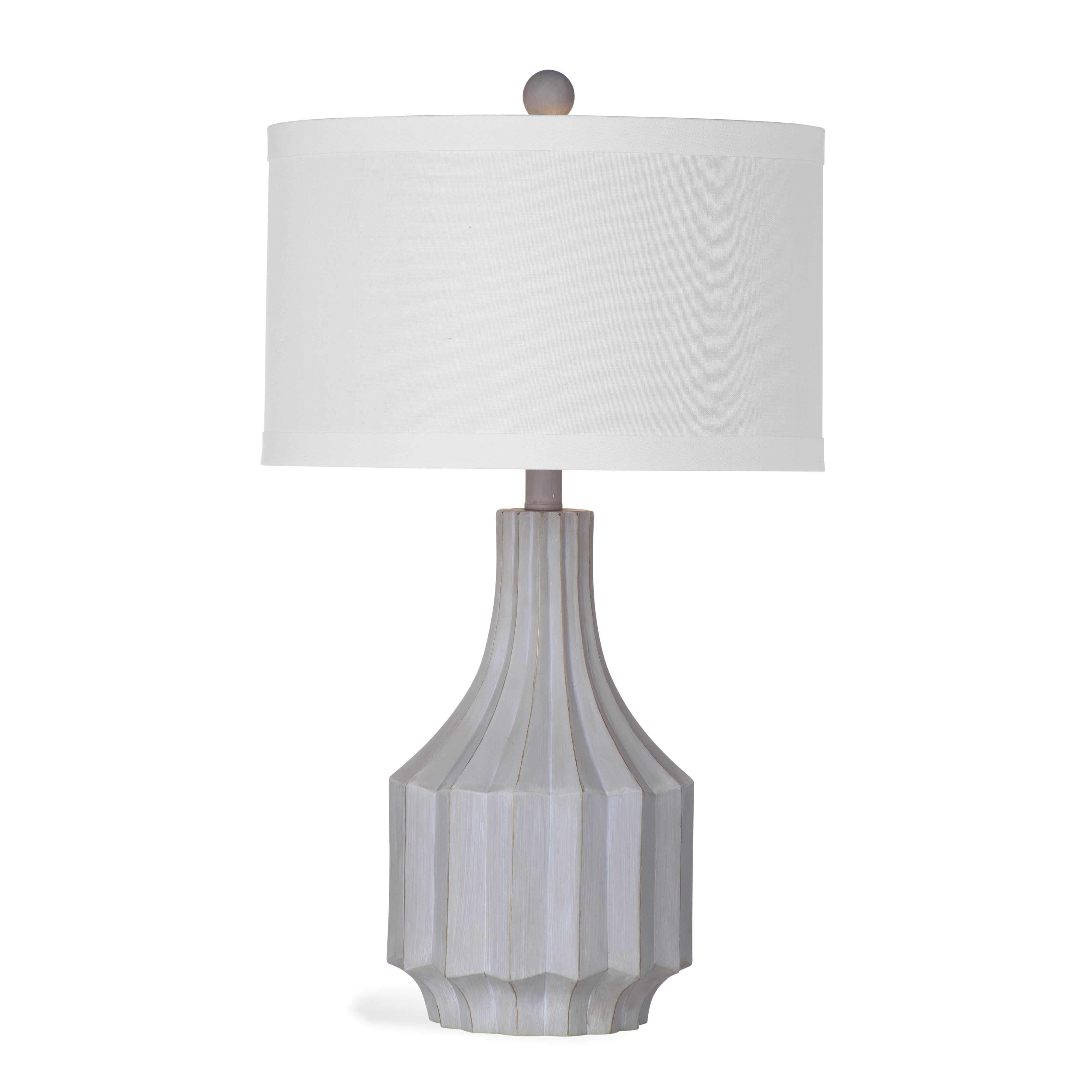 Belgian Luxe Cowan Table Lamp by Bassett Mirror at Alison Craig Home Furnishings