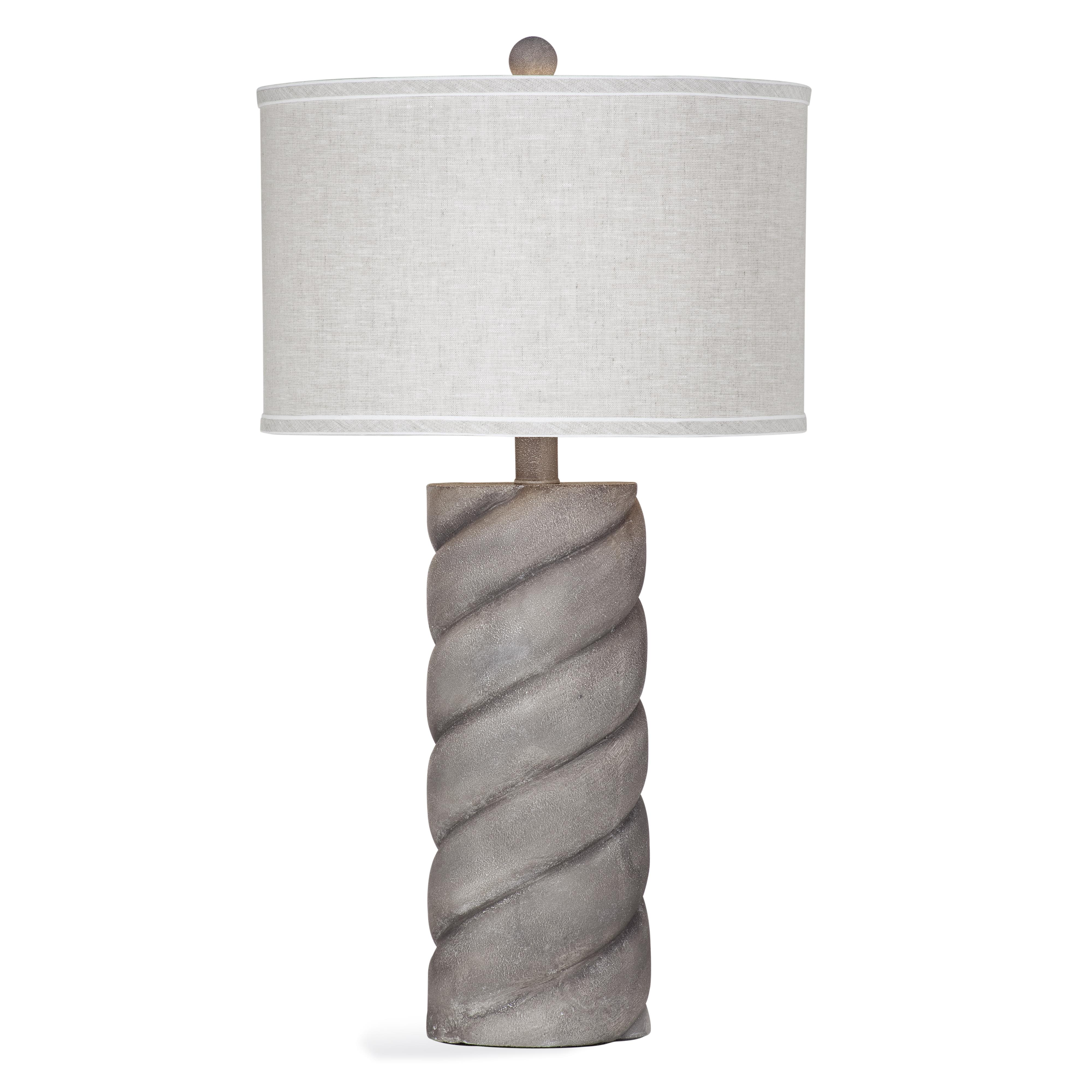 Belgian Luxe Gillia Table Lamp by Bassett Mirror at Alison Craig Home Furnishings