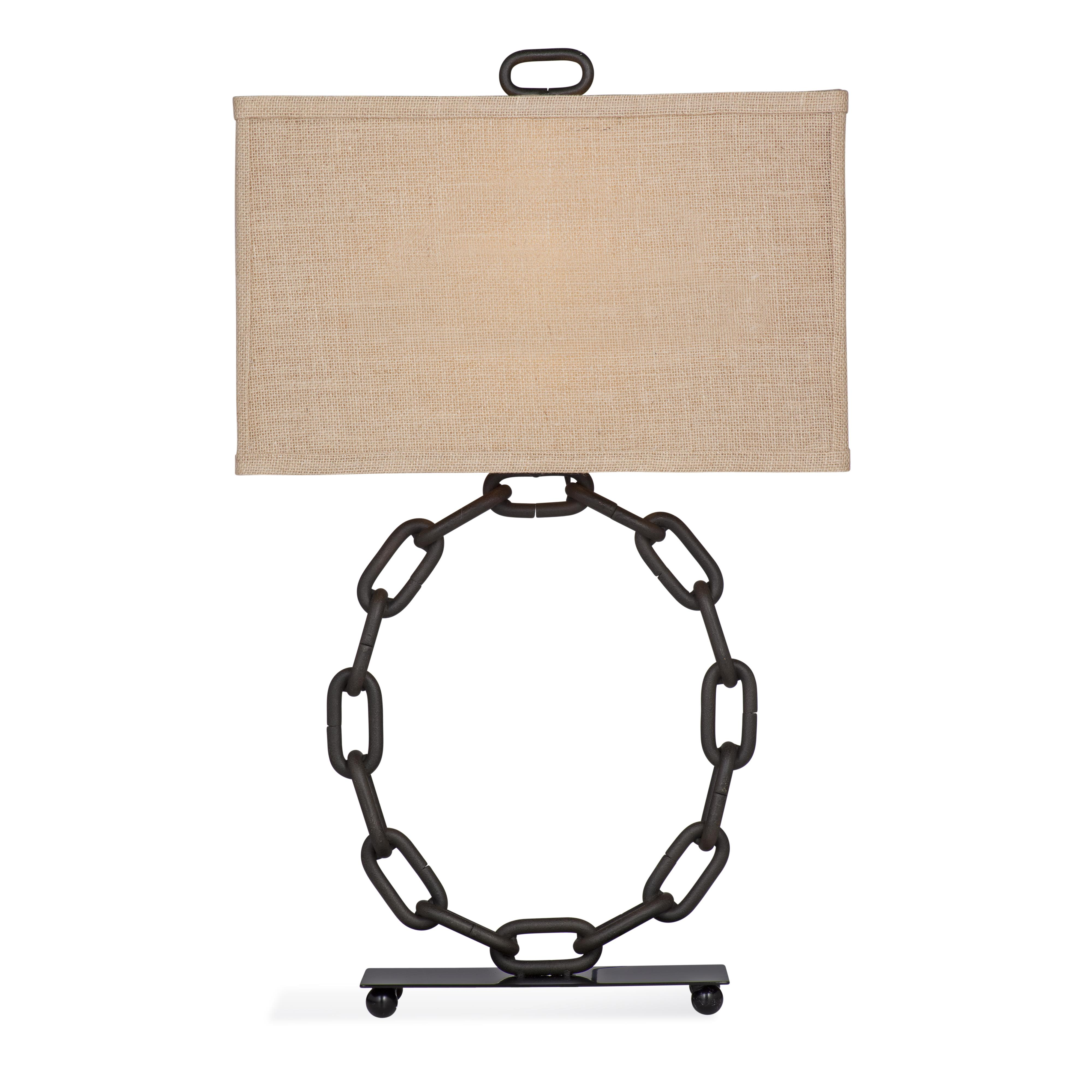 Belgian Luxe Fulton Table Lamp by Bassett Mirror at Alison Craig Home Furnishings