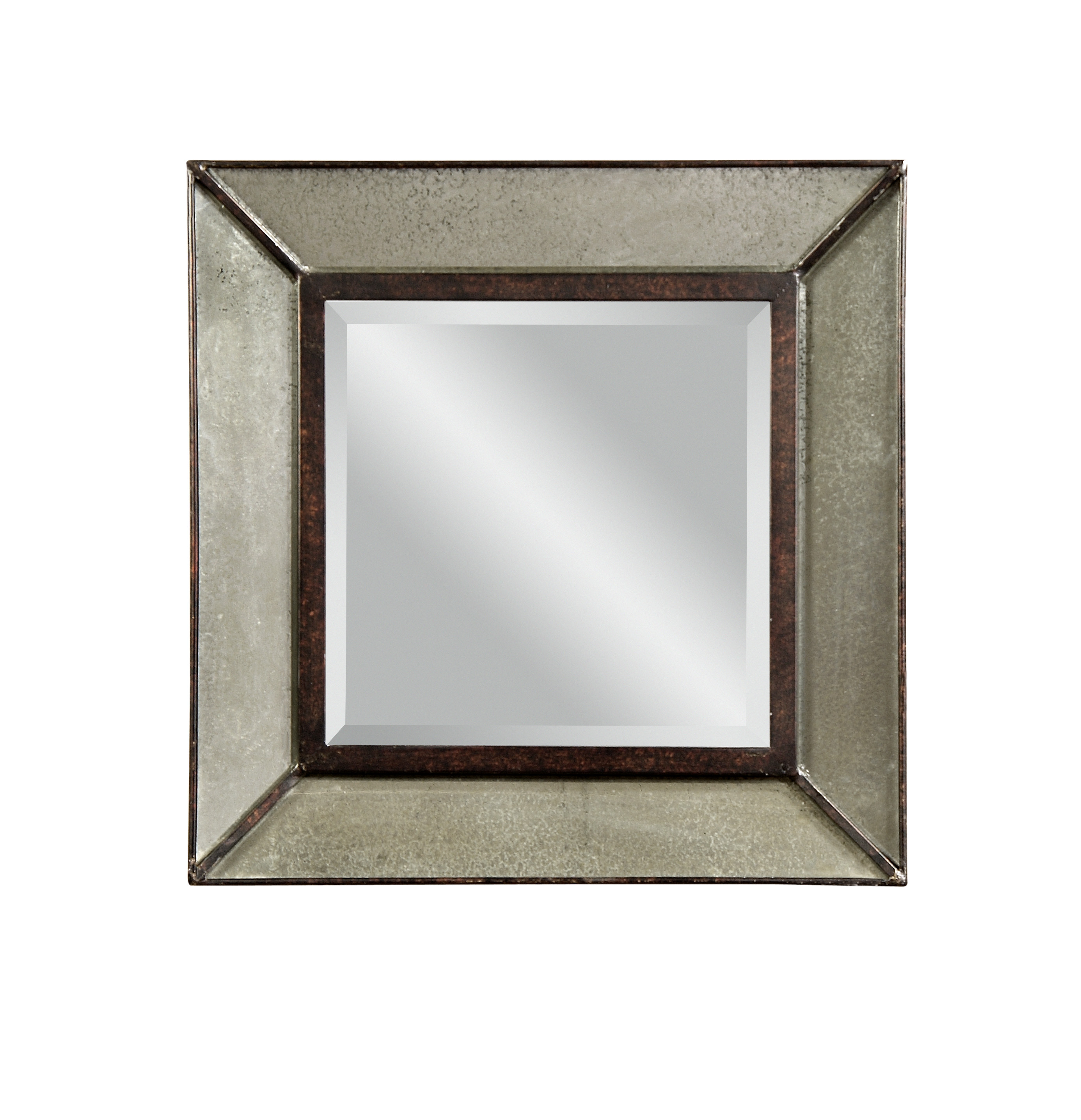 Belgian Luxe Edinborough Wall Mirror by Bassett Mirror at Alison Craig Home Furnishings