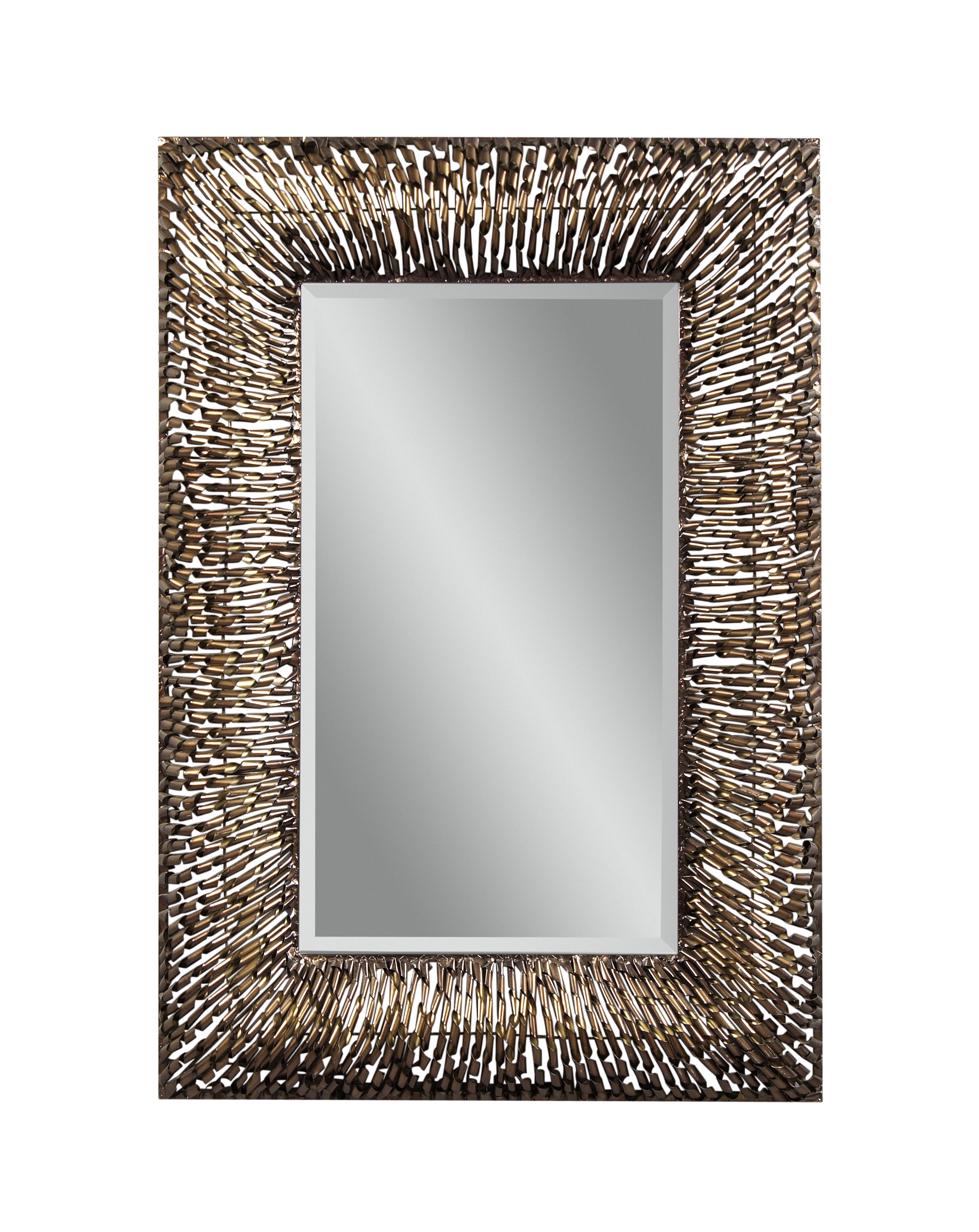 Belgian Luxe Zola Wall Mirror by Bassett Mirror at Alison Craig Home Furnishings