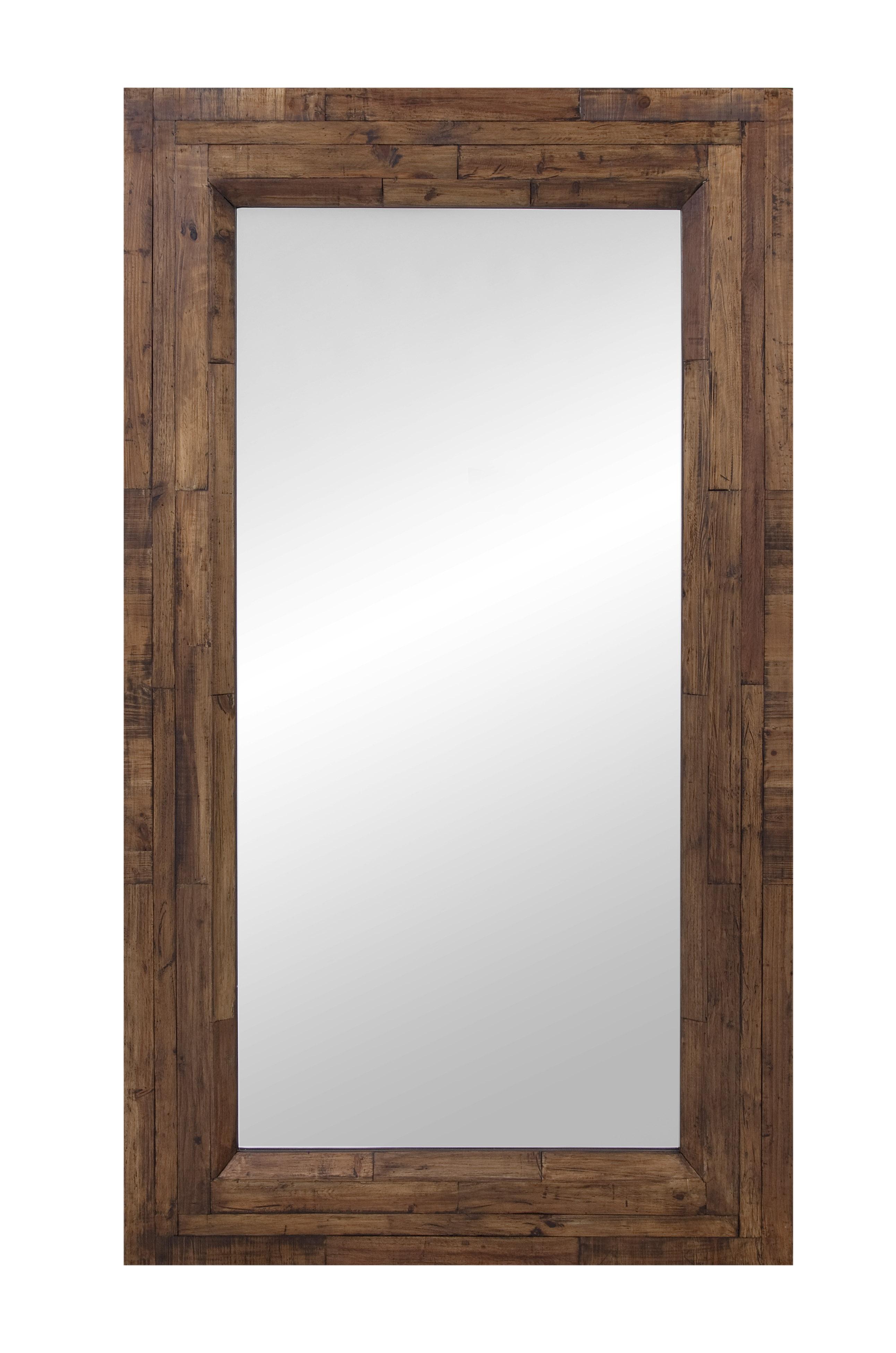 Belgian Luxe Higgins Leaner Mirror by Bassett Mirror at Alison Craig Home Furnishings