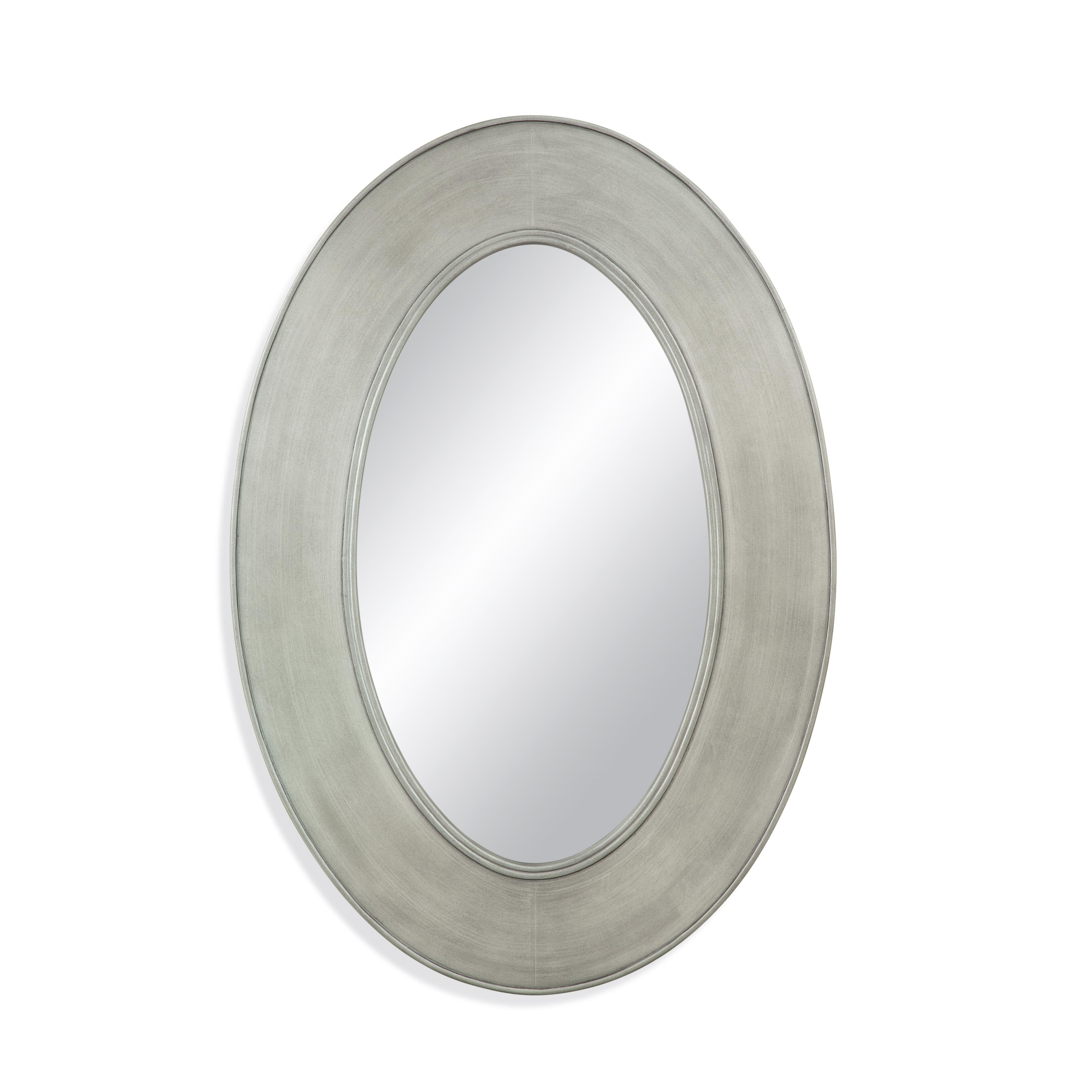 Belgian Luxe Pullman Wall Mirror by Bassett Mirror at Alison Craig Home Furnishings