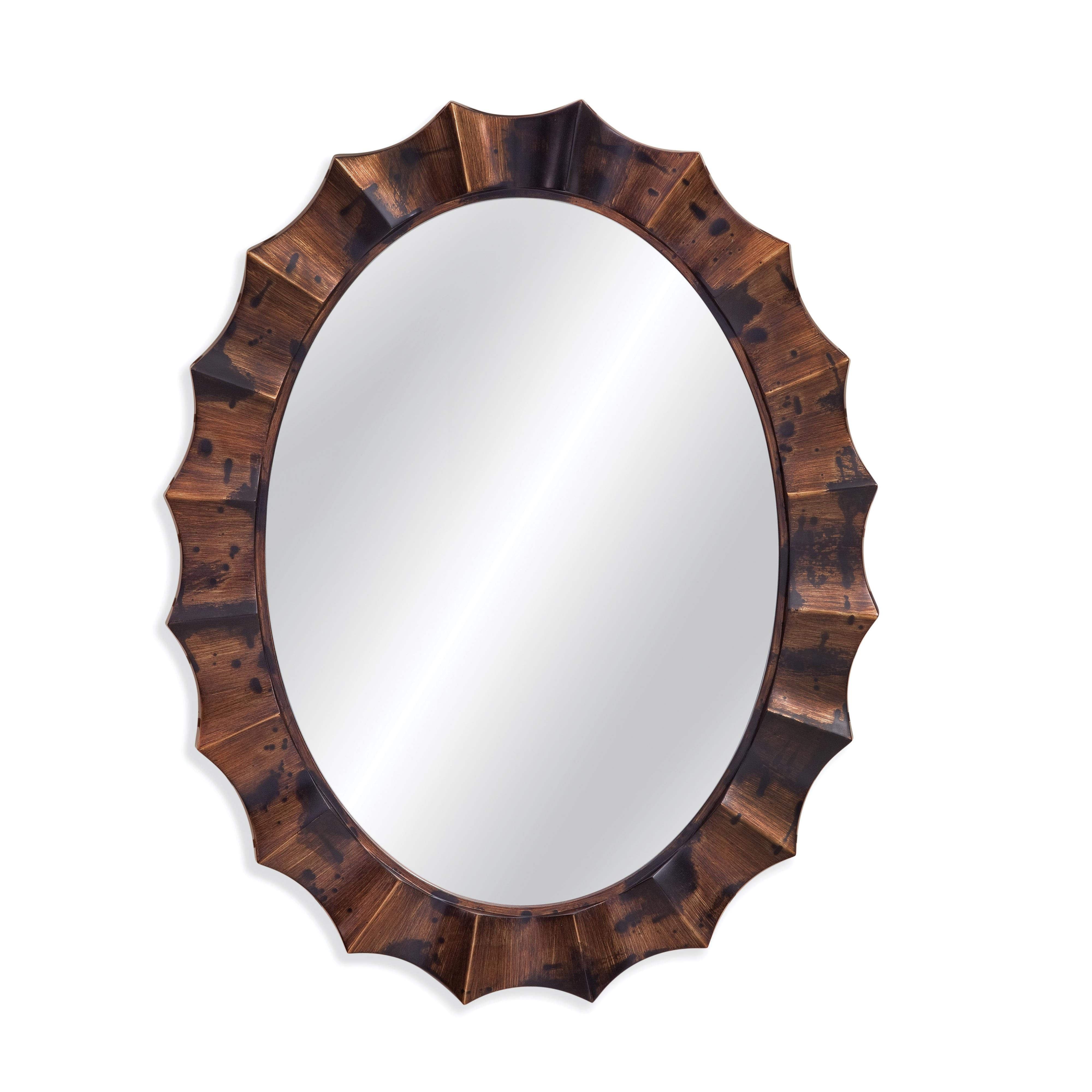 Belgian Luxe Murphy Wall Mirror by Bassett Mirror at Alison Craig Home Furnishings