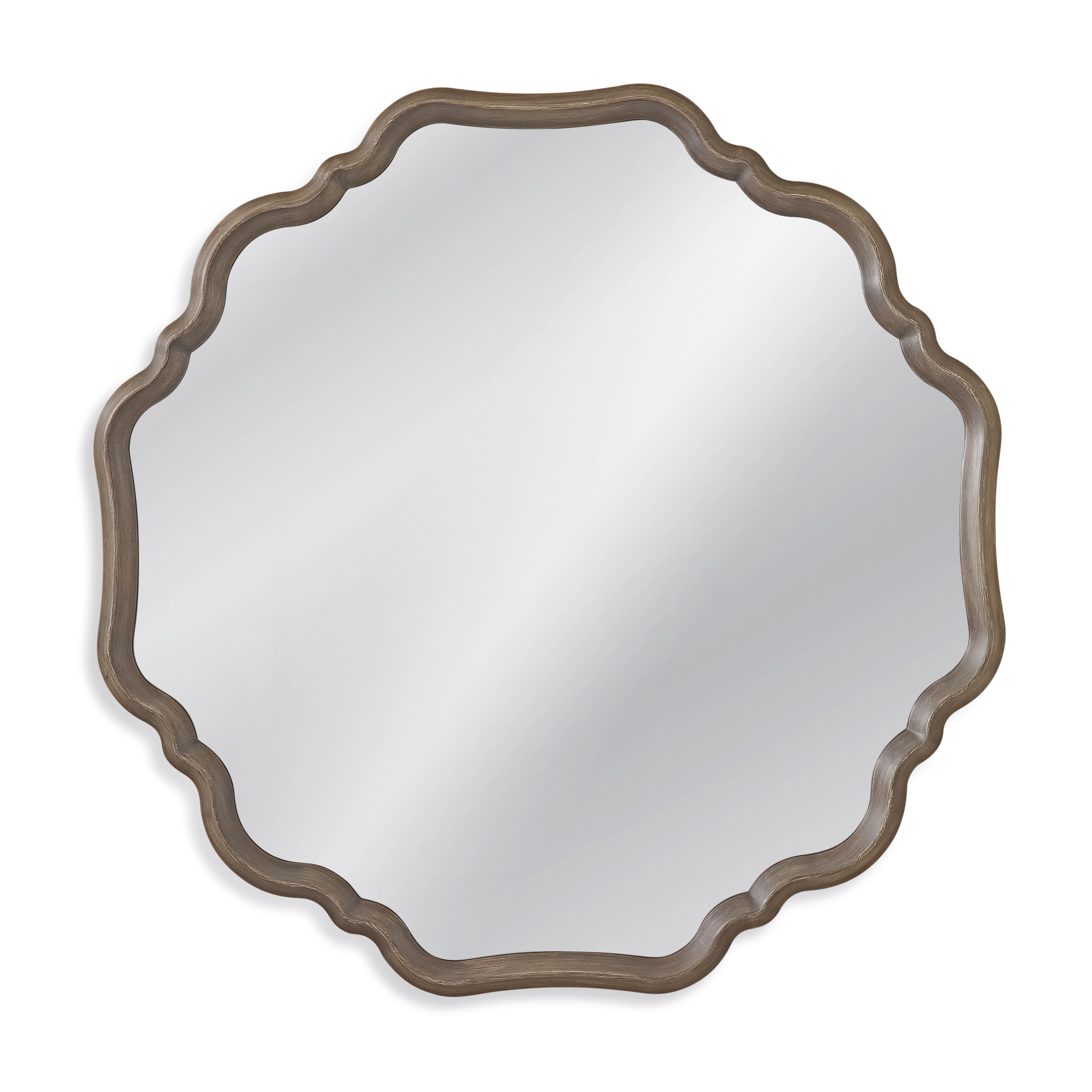 Belgian Luxe Davenport Wall Mirror by Bassett Mirror at Alison Craig Home Furnishings