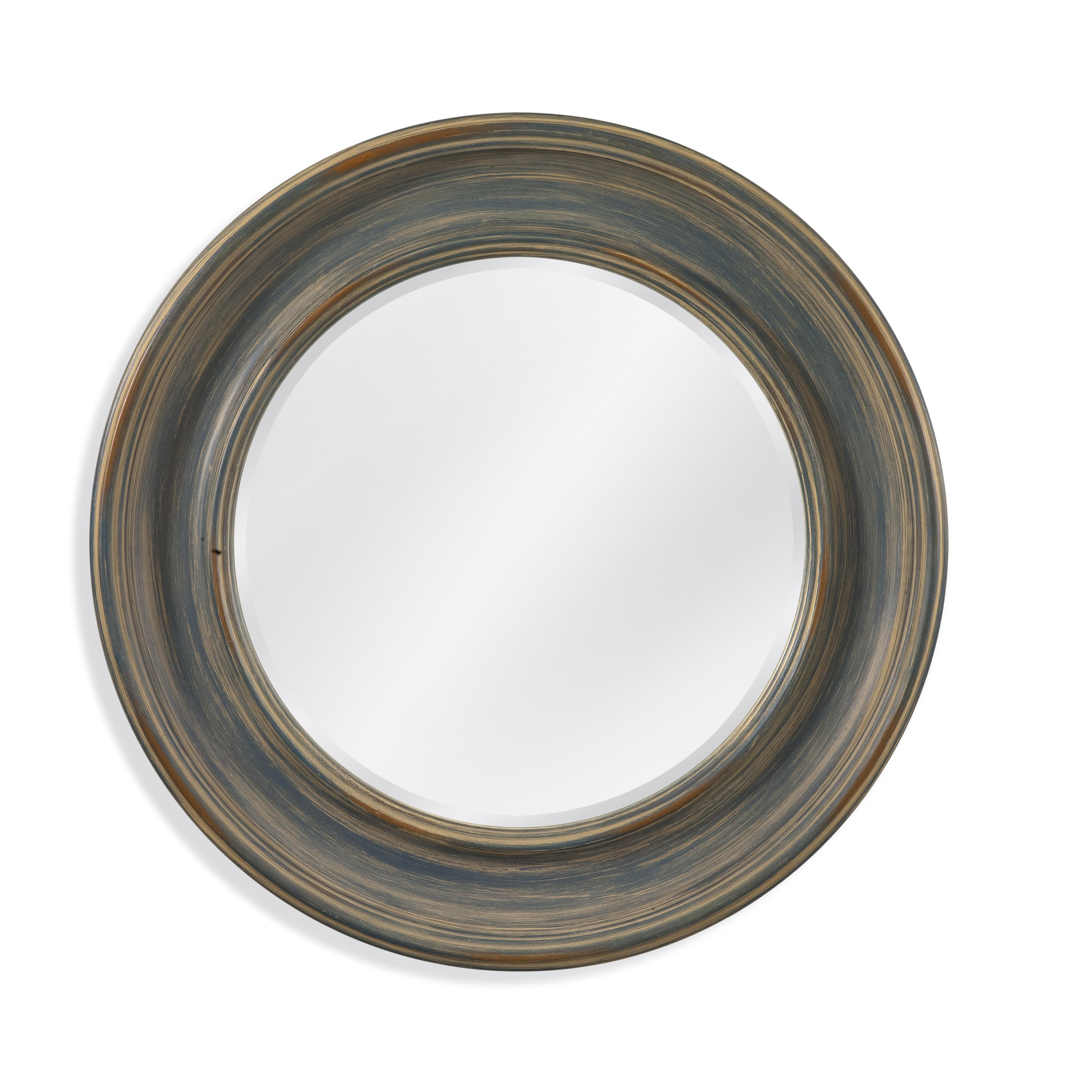Belgian Luxe Ranlo Wall Mirror by Bassett Mirror at Alison Craig Home Furnishings