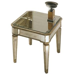 Bassett Mirror Borghese Rectangular End Table