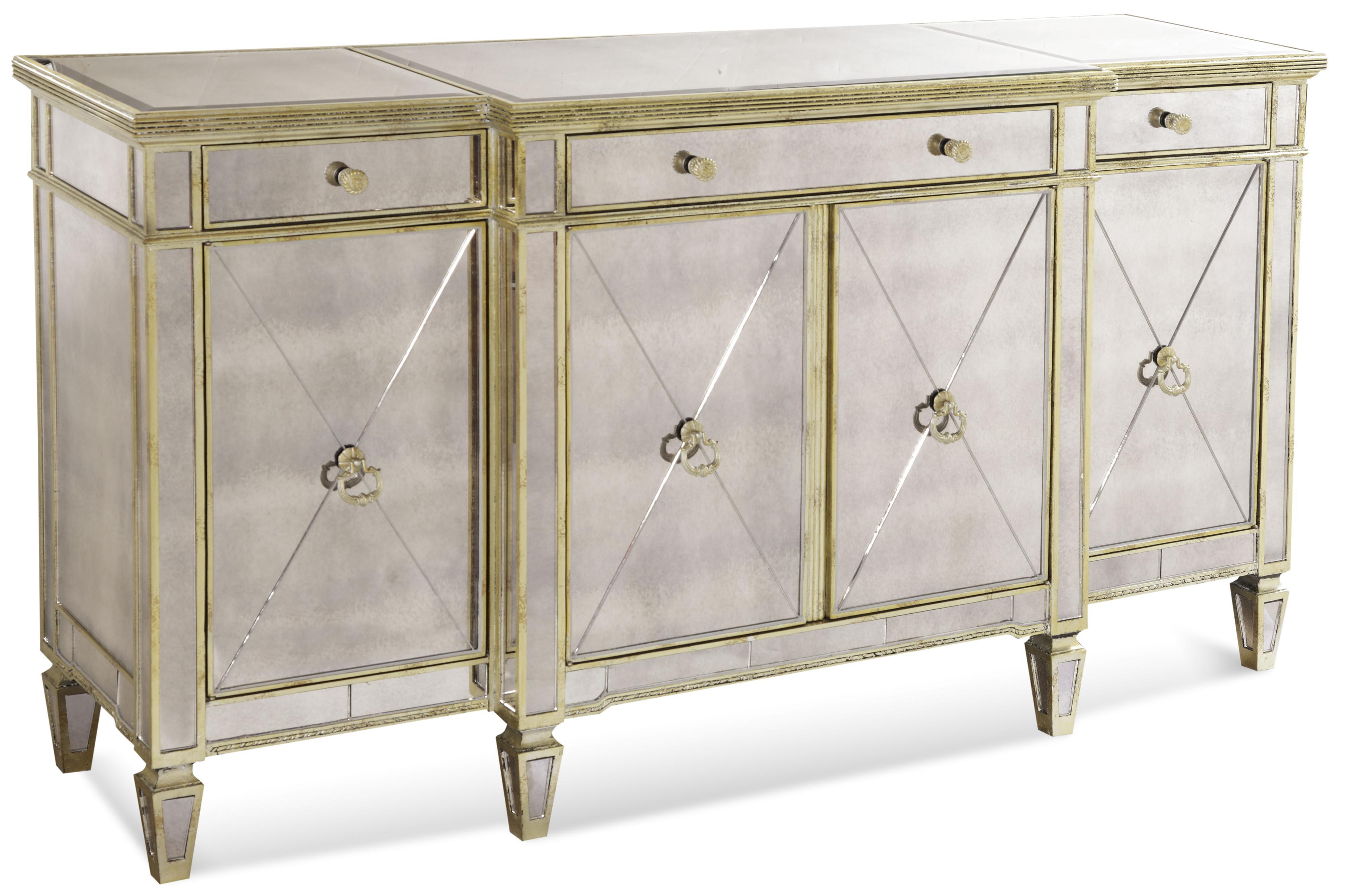 Borghese Buffet by Bassett Mirror at Lapeer Furniture & Mattress Center