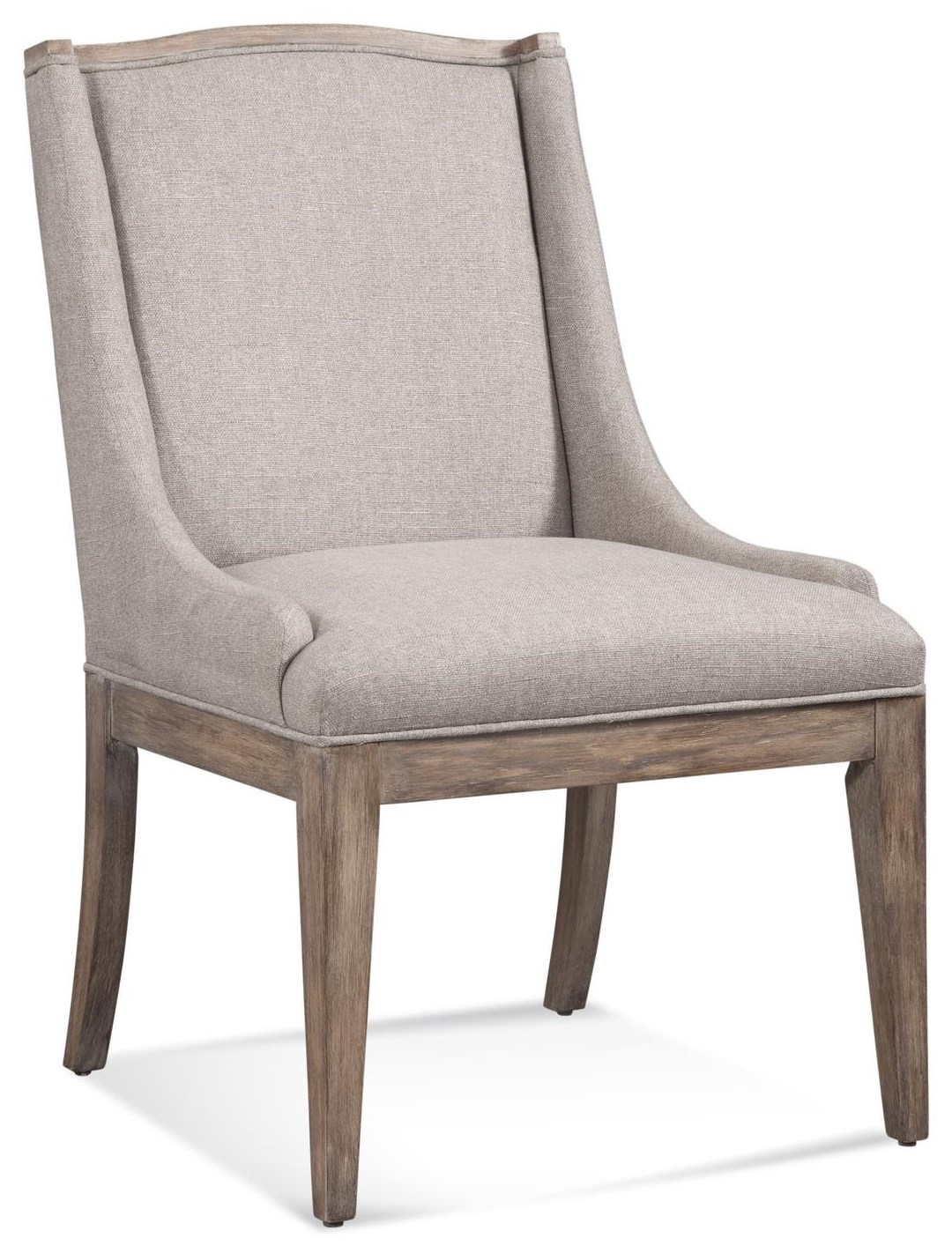 Buxton Parsons Parsons Side Chair by Bassett Mirror at Johnny Janosik