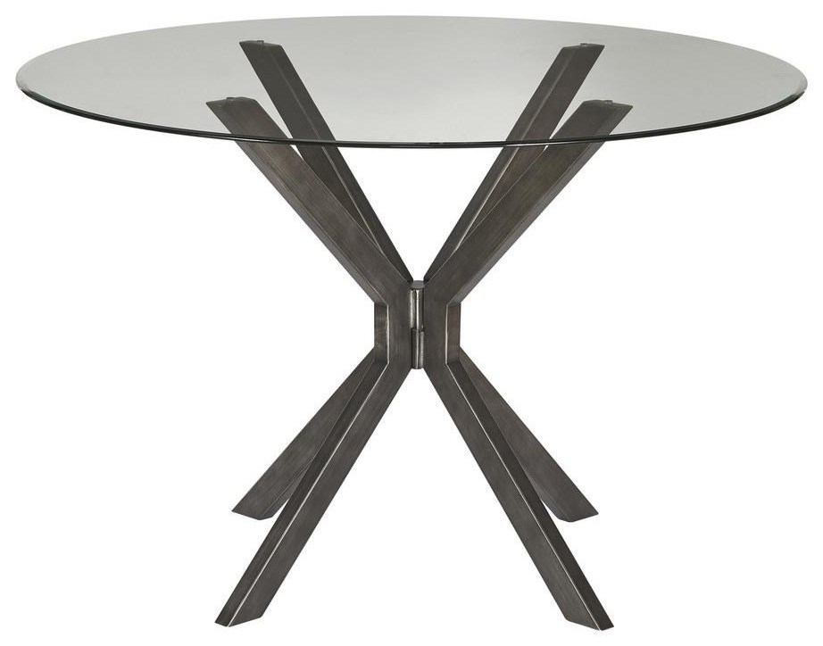 Dean DINING TABLE by Bassett Mirror at Johnny Janosik