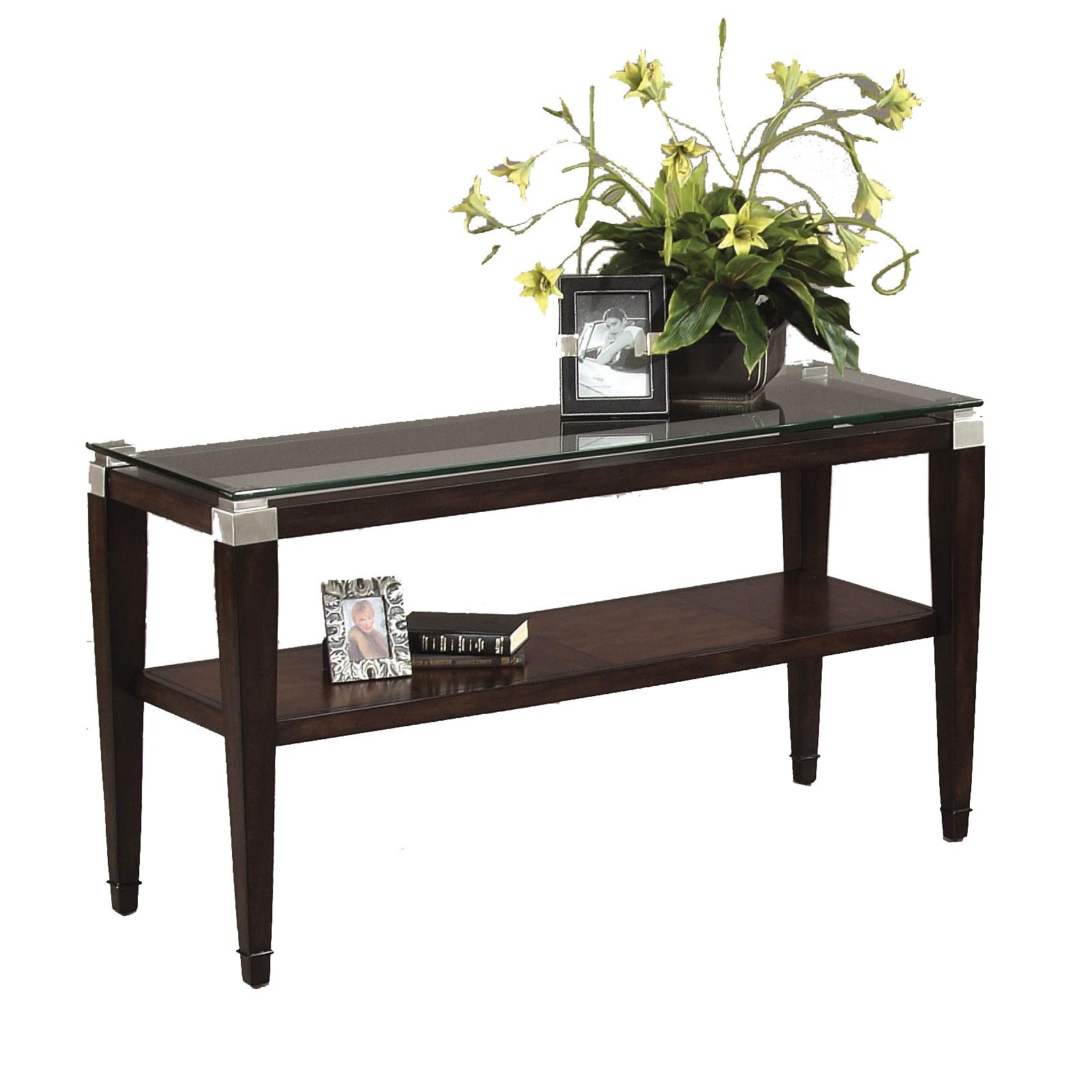 Dunhill Console Table by Bassett Mirror at Lapeer Furniture & Mattress Center