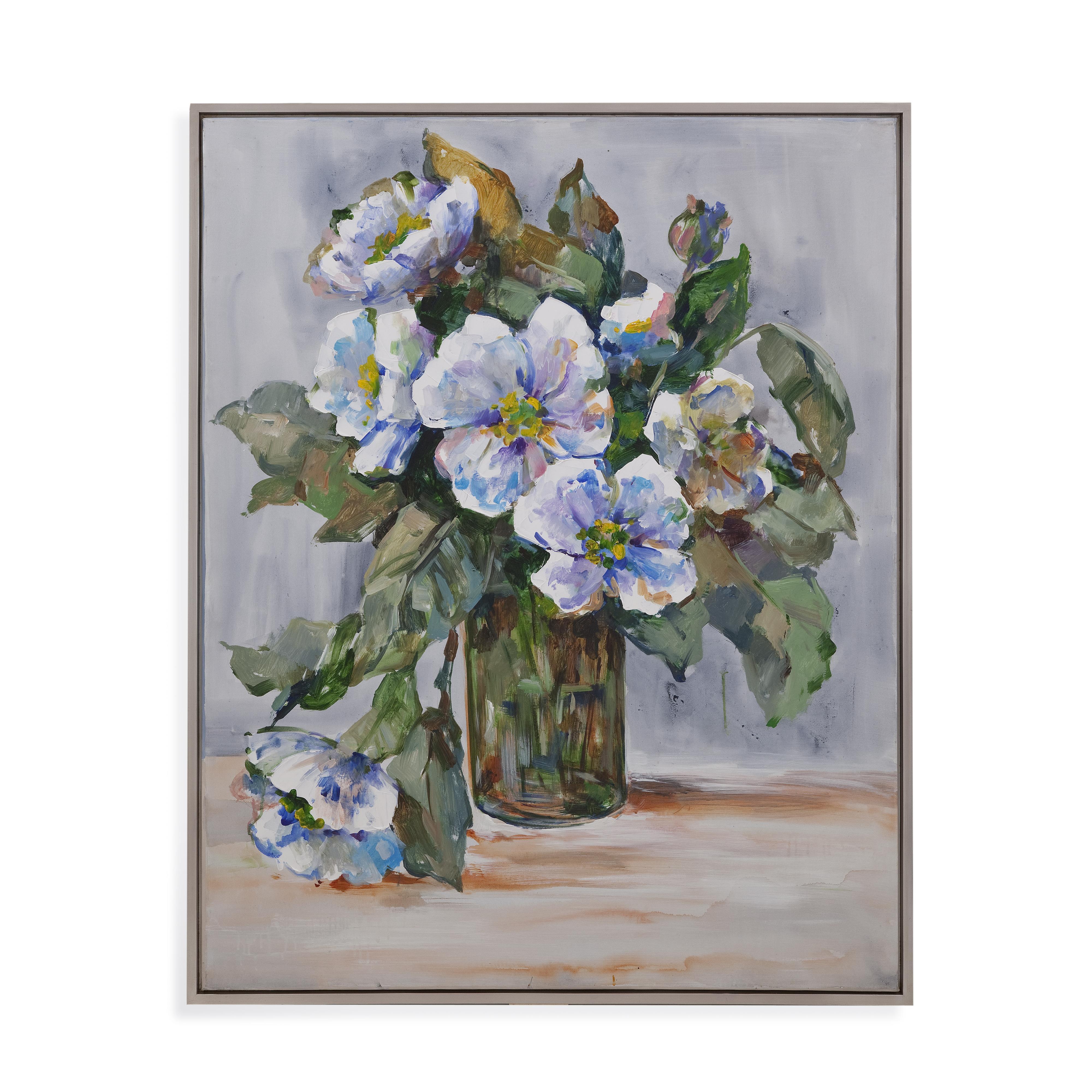 Hollywood Glam Elegant Flowers by Bassett Mirror at Lapeer Furniture & Mattress Center