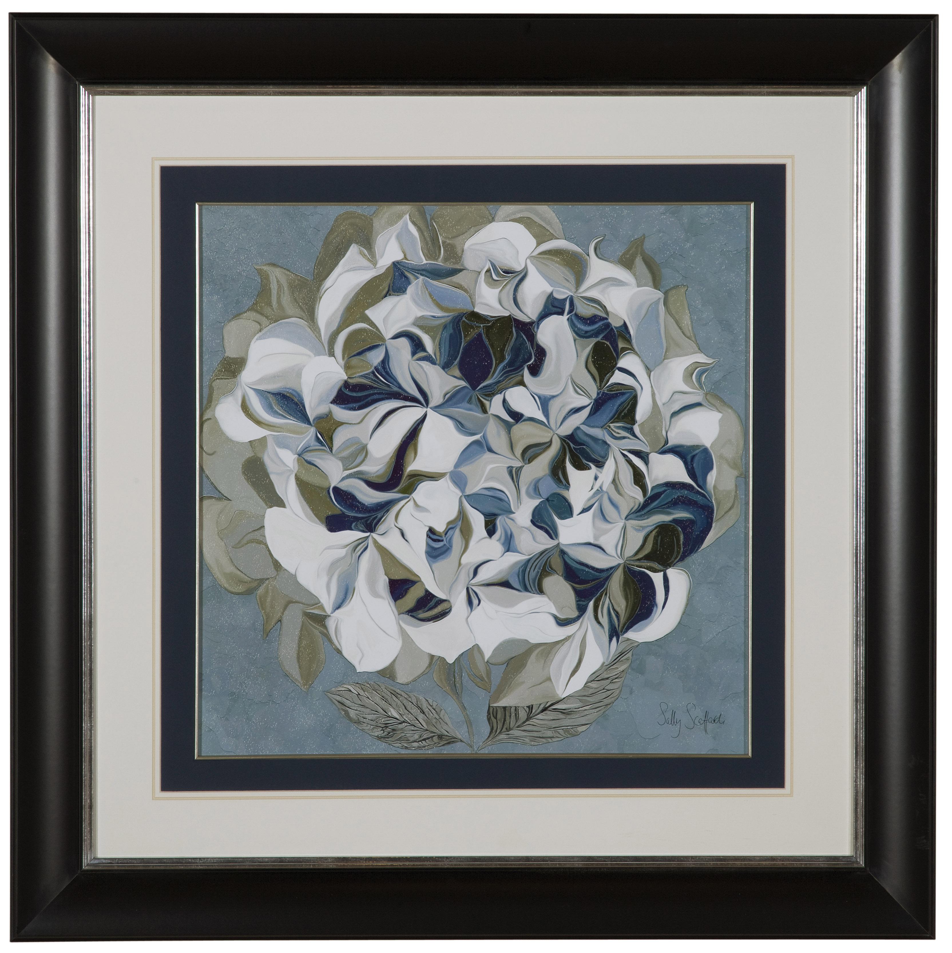 Hollywood Glam Elegant Hydrangeas II by Bassett Mirror at Lapeer Furniture & Mattress Center