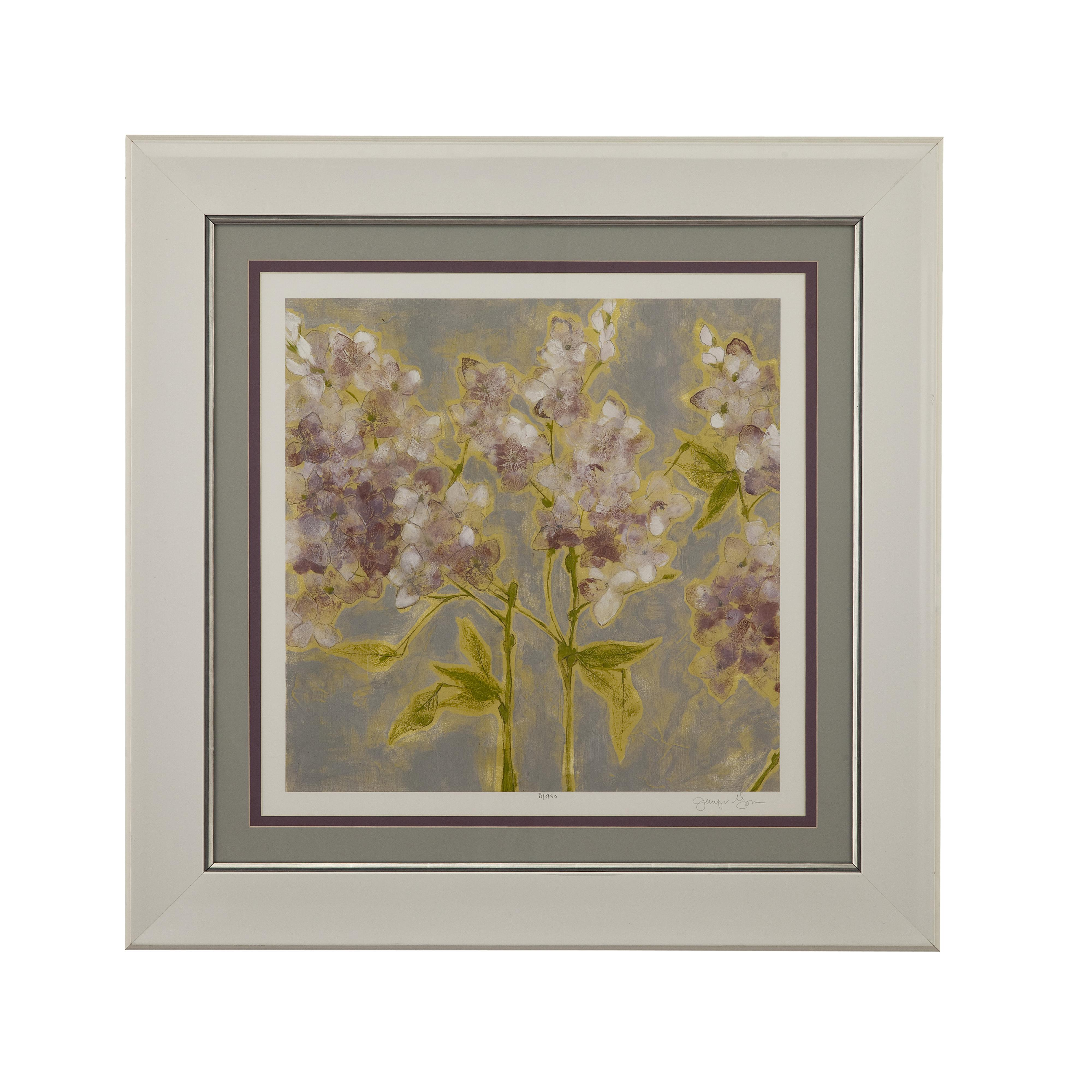 Hollywood Glam Etheral Flowers I by Bassett Mirror at Lapeer Furniture & Mattress Center