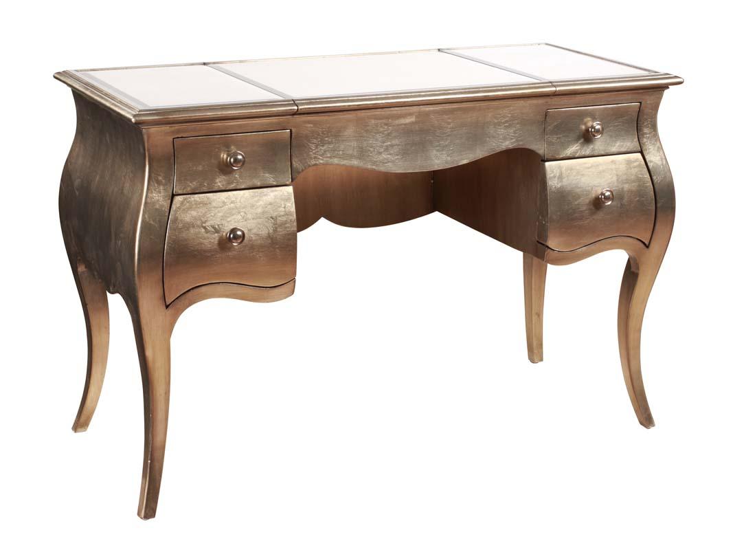 Hollywood Glam Greta Ladies Writing Desk by Bassett Mirror at Adcock Furniture