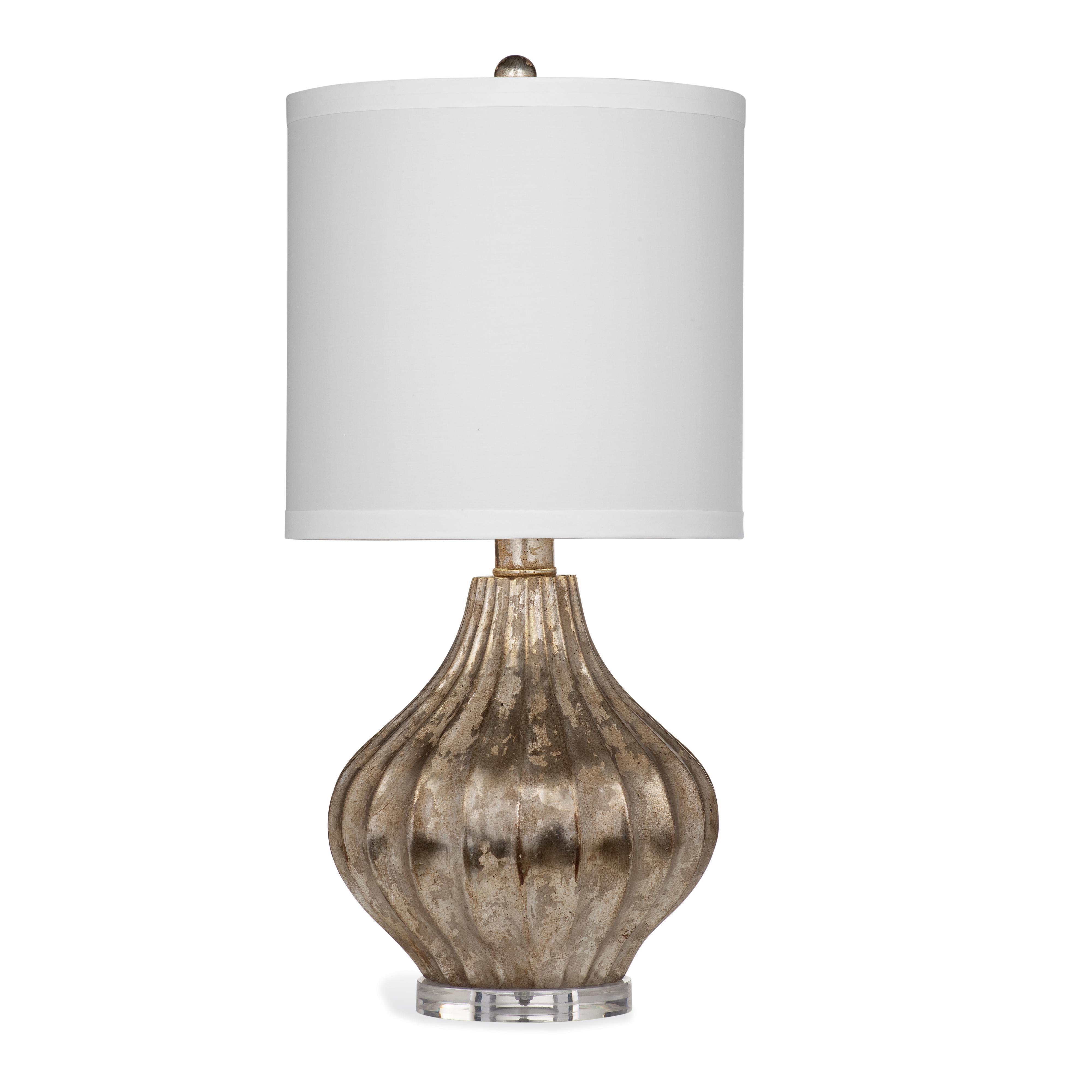 Hollywood Glam Burbank Table Lamp by Bassett Mirror at Jacksonville Furniture Mart