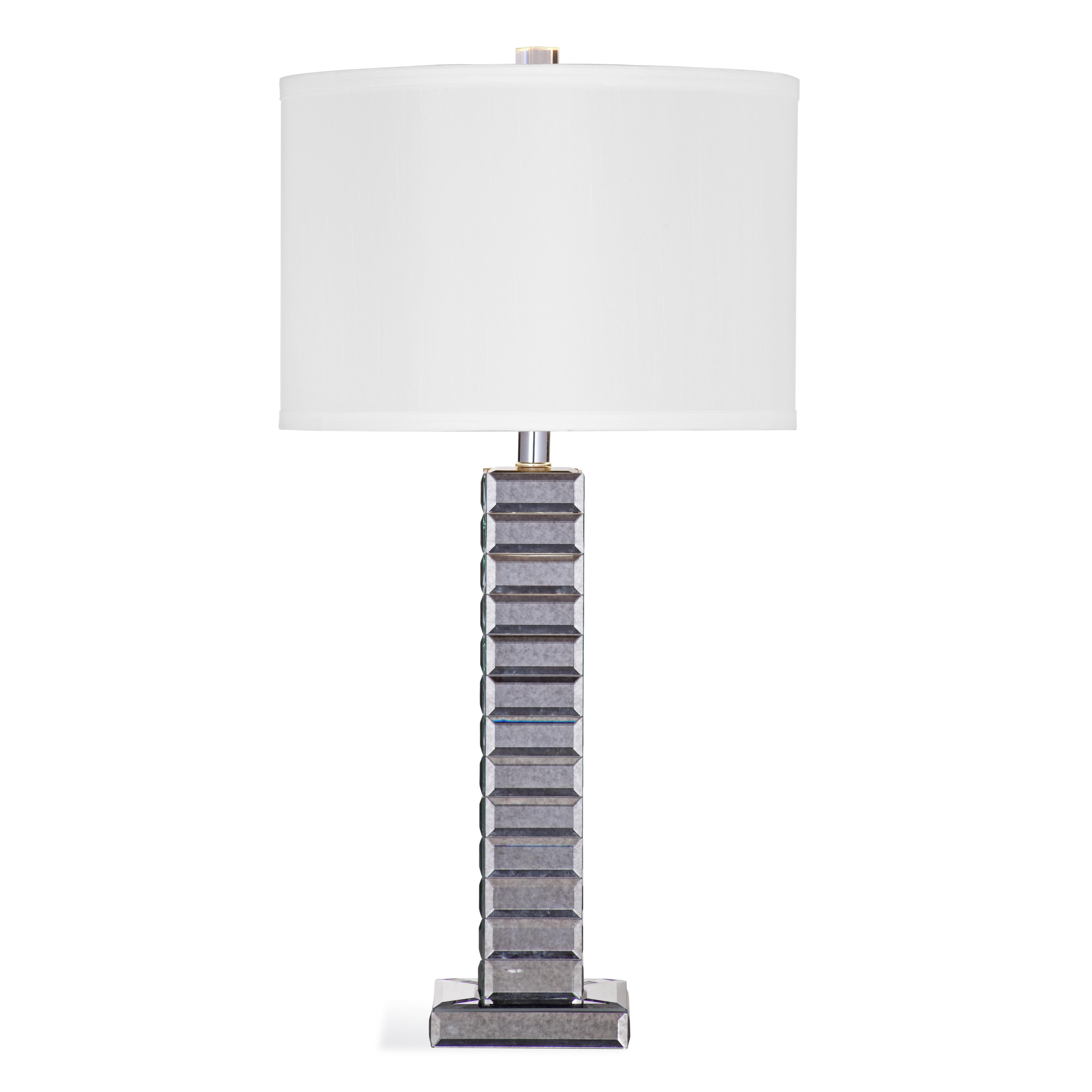 Hollywood Glam Jillian Table Lamp by Bassett Mirror at Alison Craig Home Furnishings