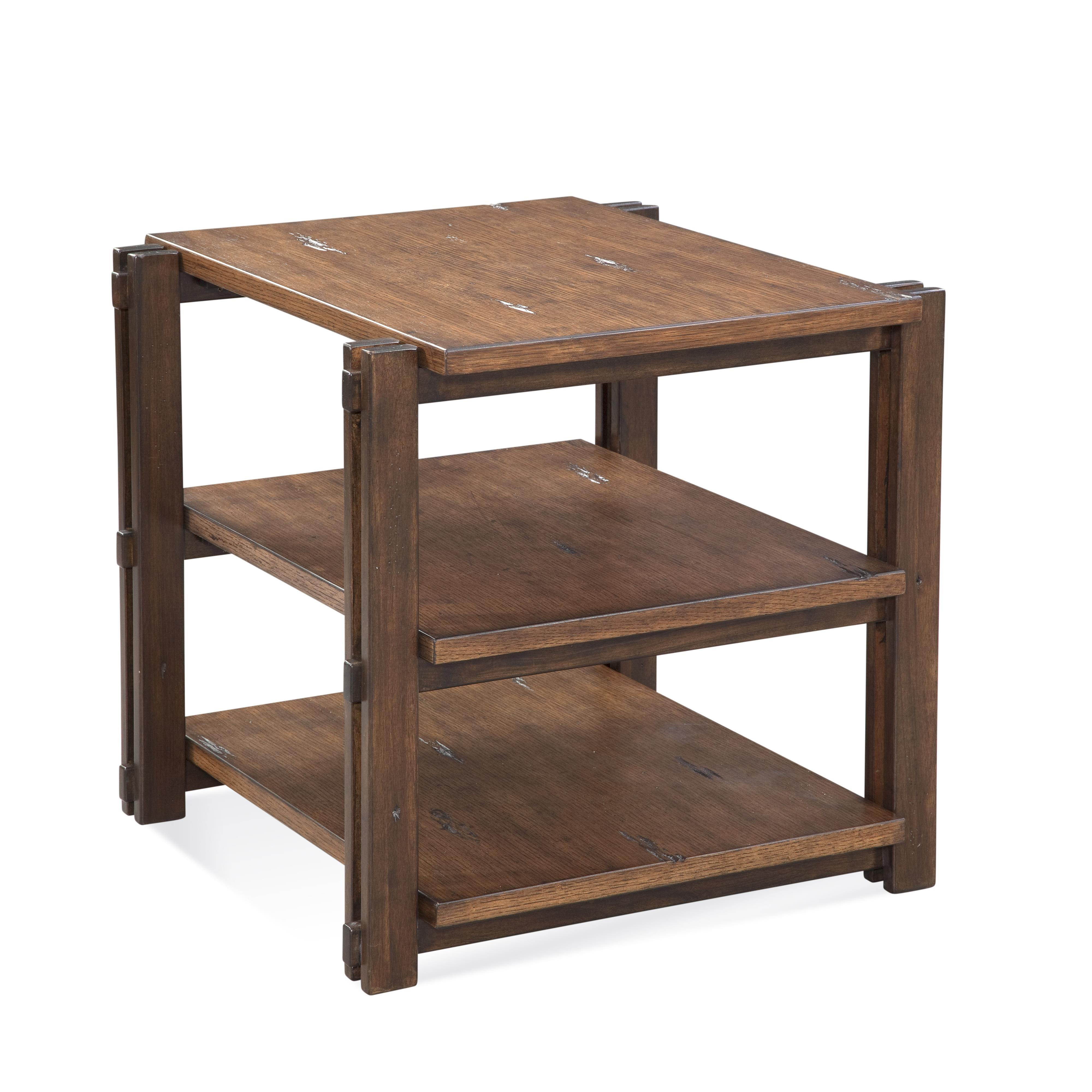 Home Accents Holbrook Rectangle End Table by Bassett Mirror at Alison Craig Home Furnishings