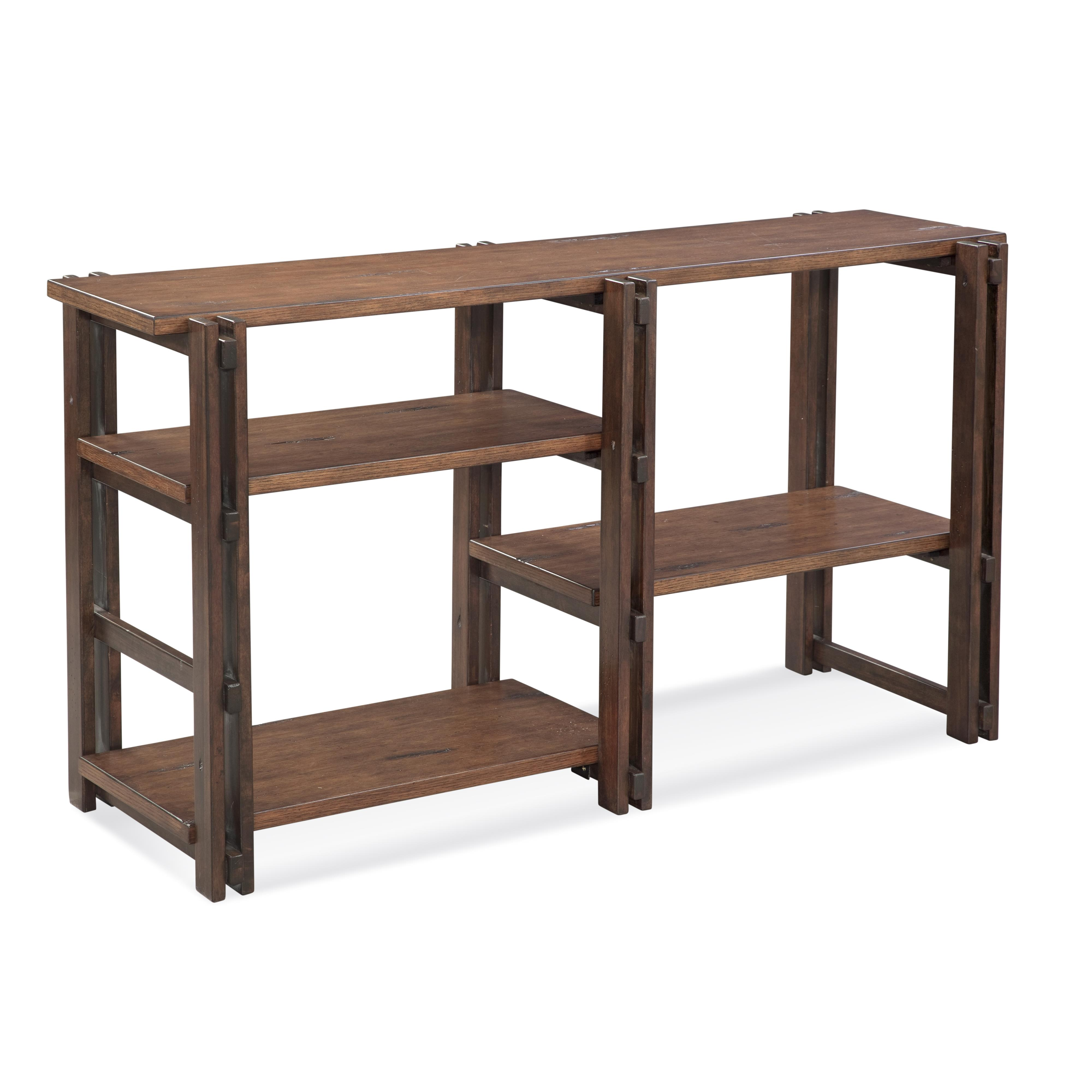 Home Accents Holbrook Console by Bassett Mirror at Bullard Furniture
