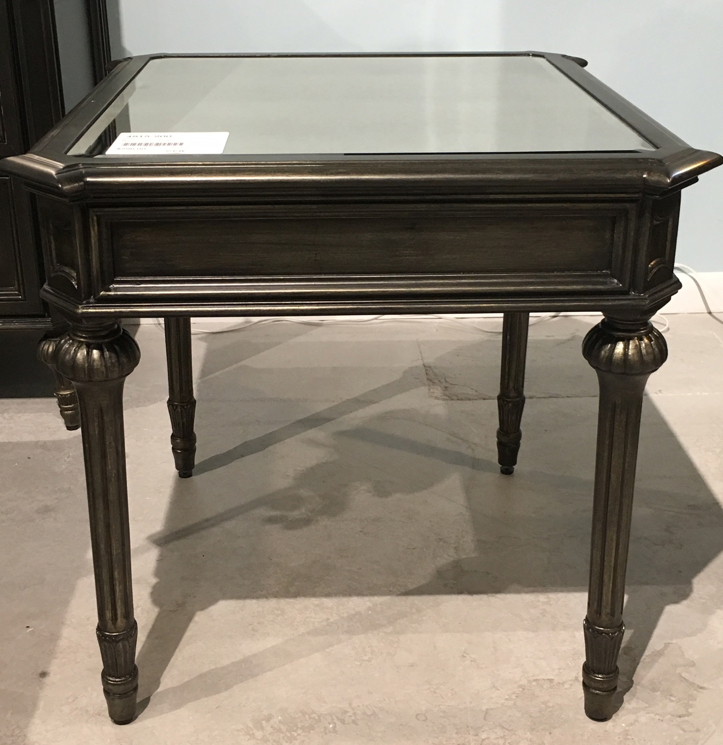 Home Accents Marseille Rectangle End Table by Bassett Mirror at Alison Craig Home Furnishings