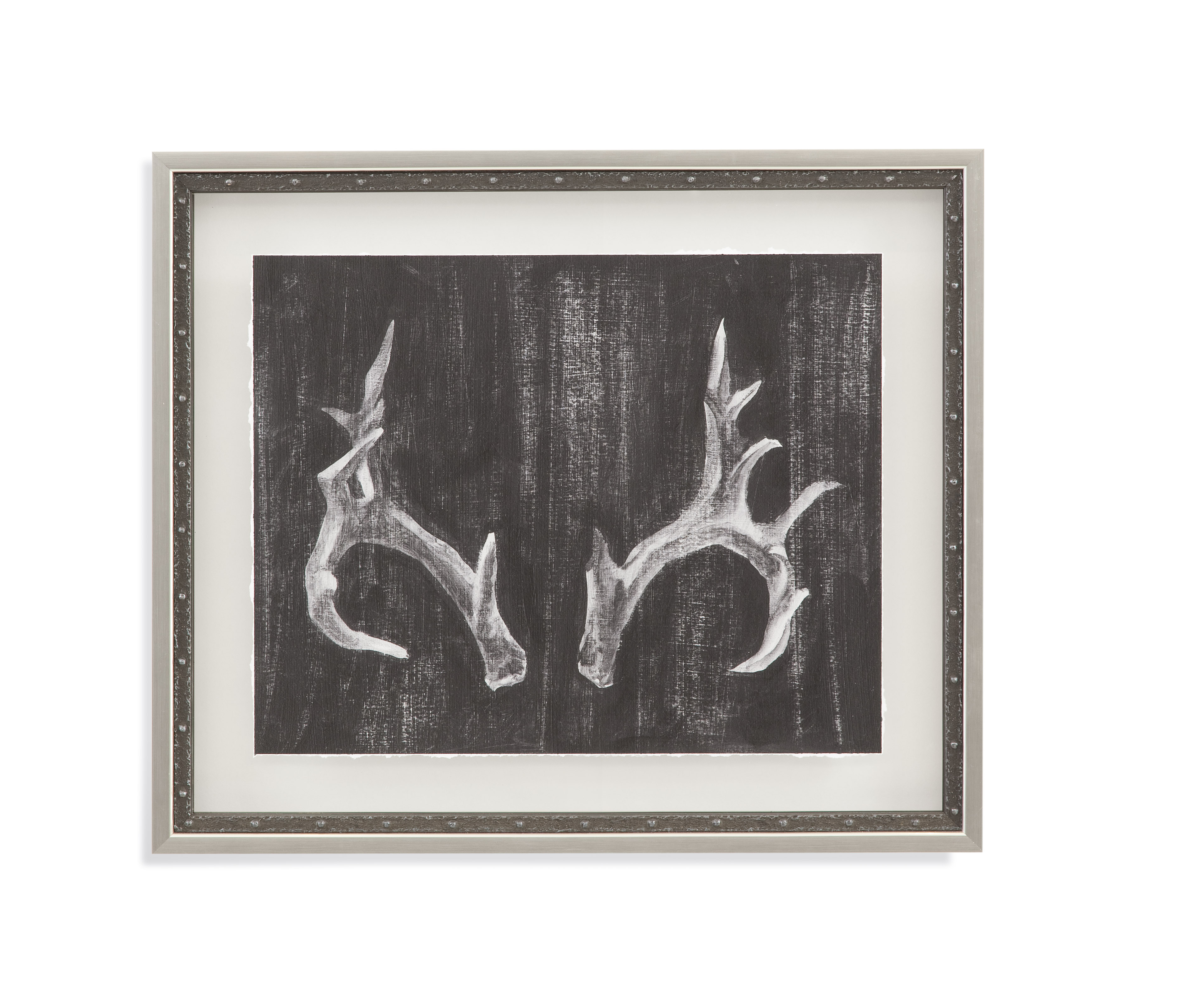 Home Accents Rustic Antlers I by Bassett Mirror at Story & Lee Furniture