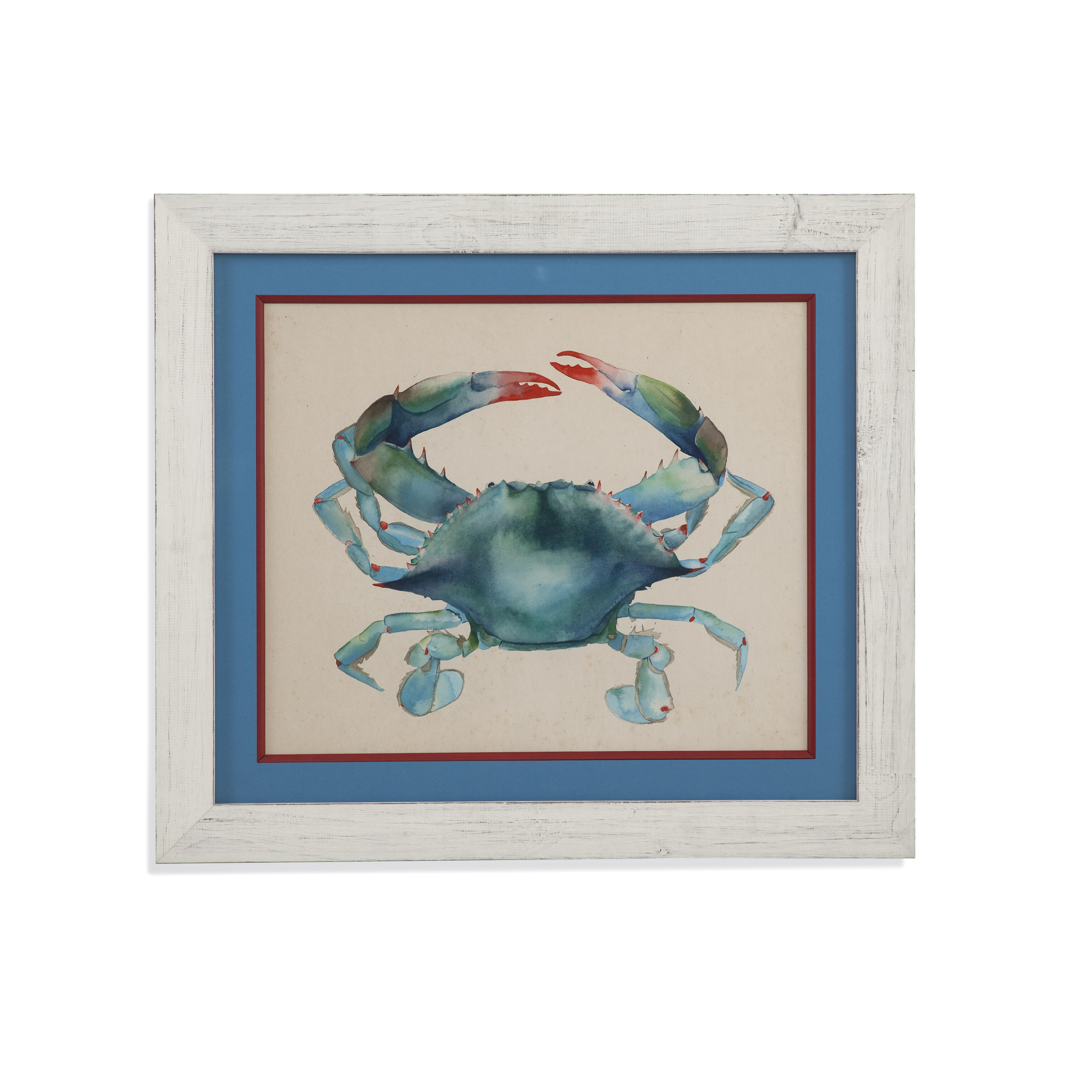 Home Accents Sea Dweller I by Bassett Mirror at Alison Craig Home Furnishings