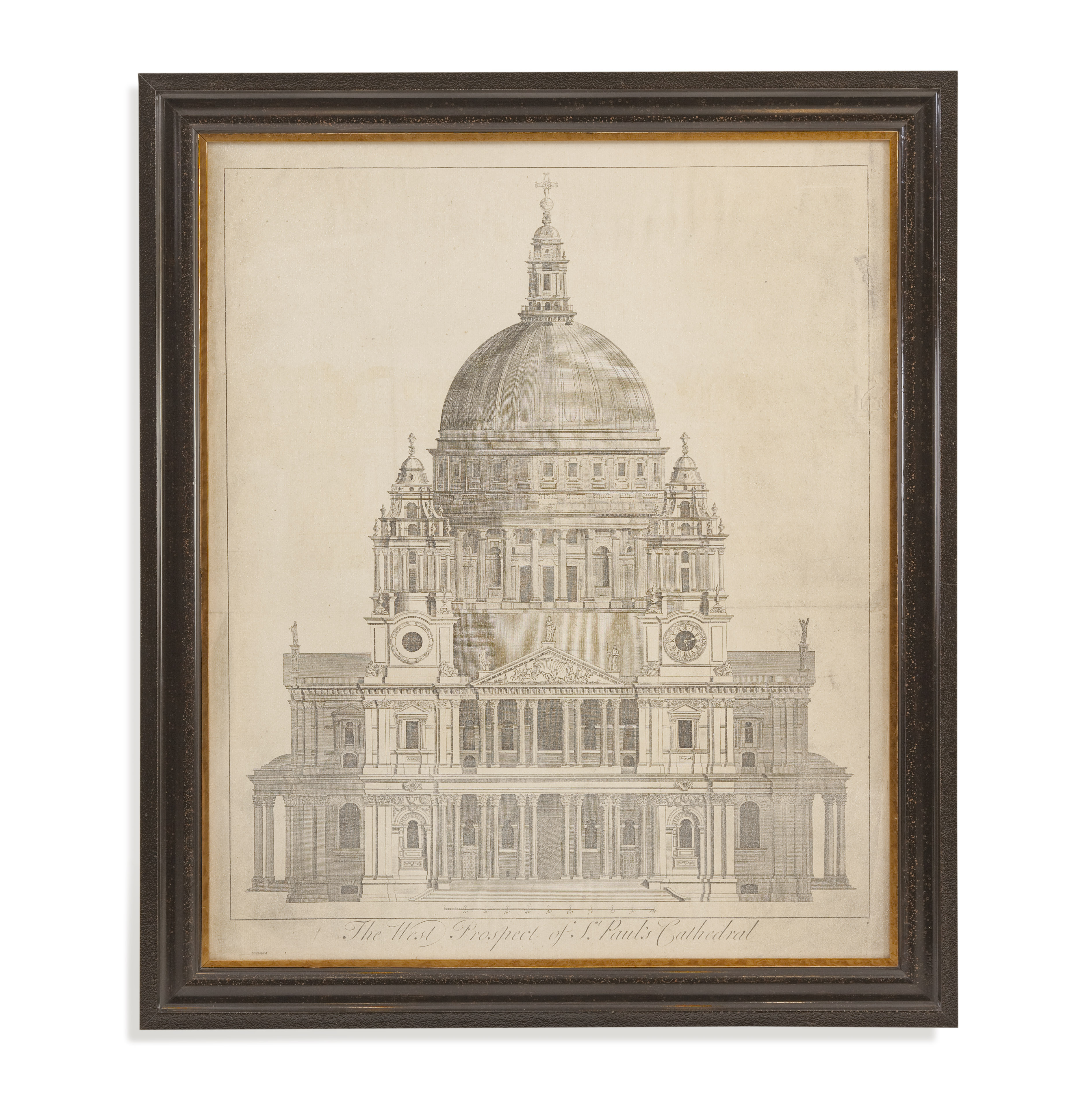 Home Accents St. Paul's Cathedral by Bassett Mirror at Alison Craig Home Furnishings
