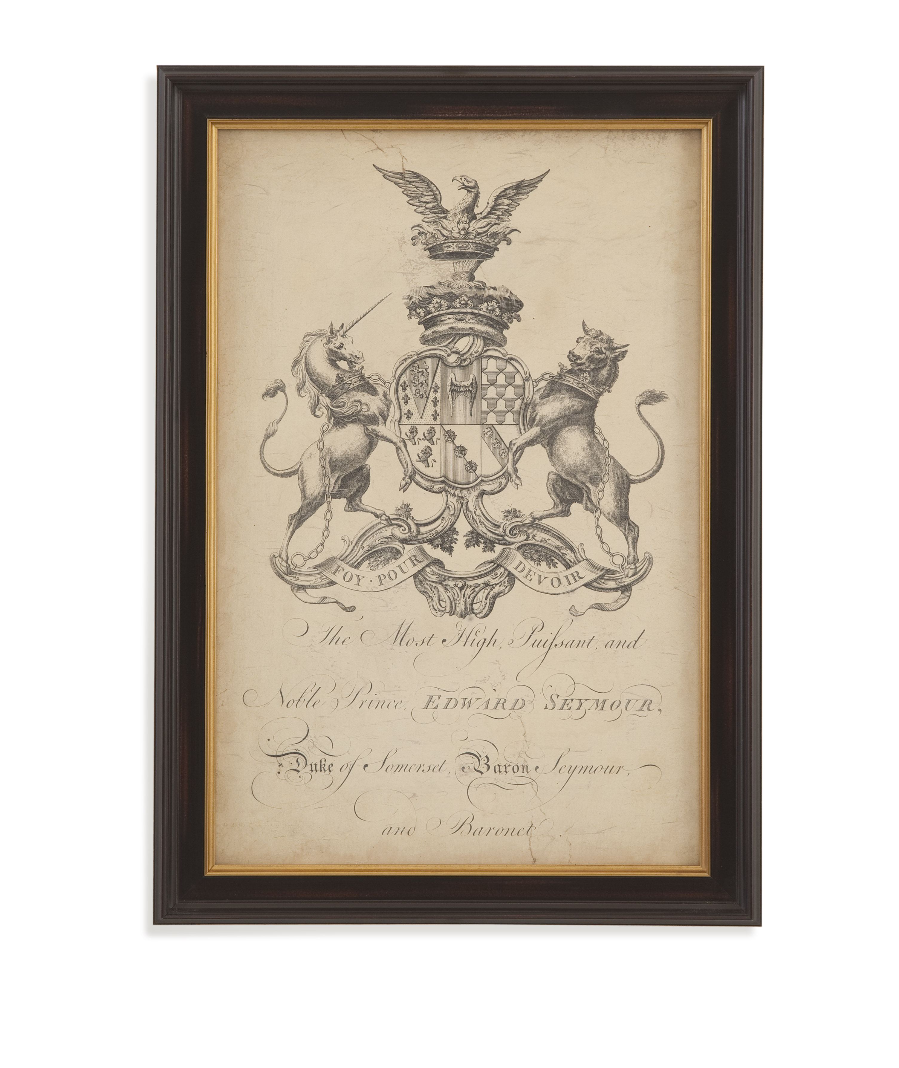 Home Accents Peerage of England II by Bassett Mirror at Alison Craig Home Furnishings