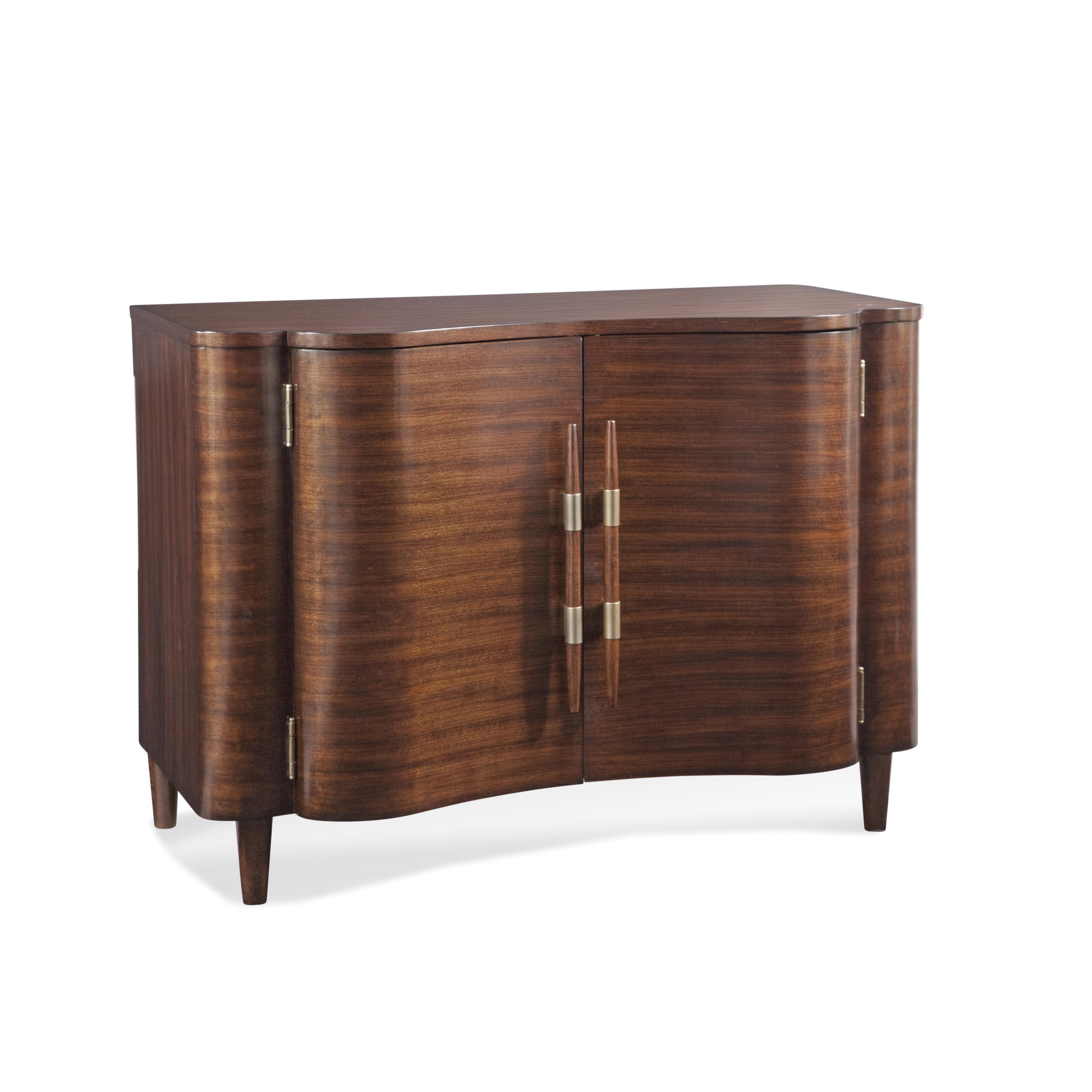 In-Town Darrien Bar Cabinet by Bassett Mirror at Lapeer Furniture & Mattress Center
