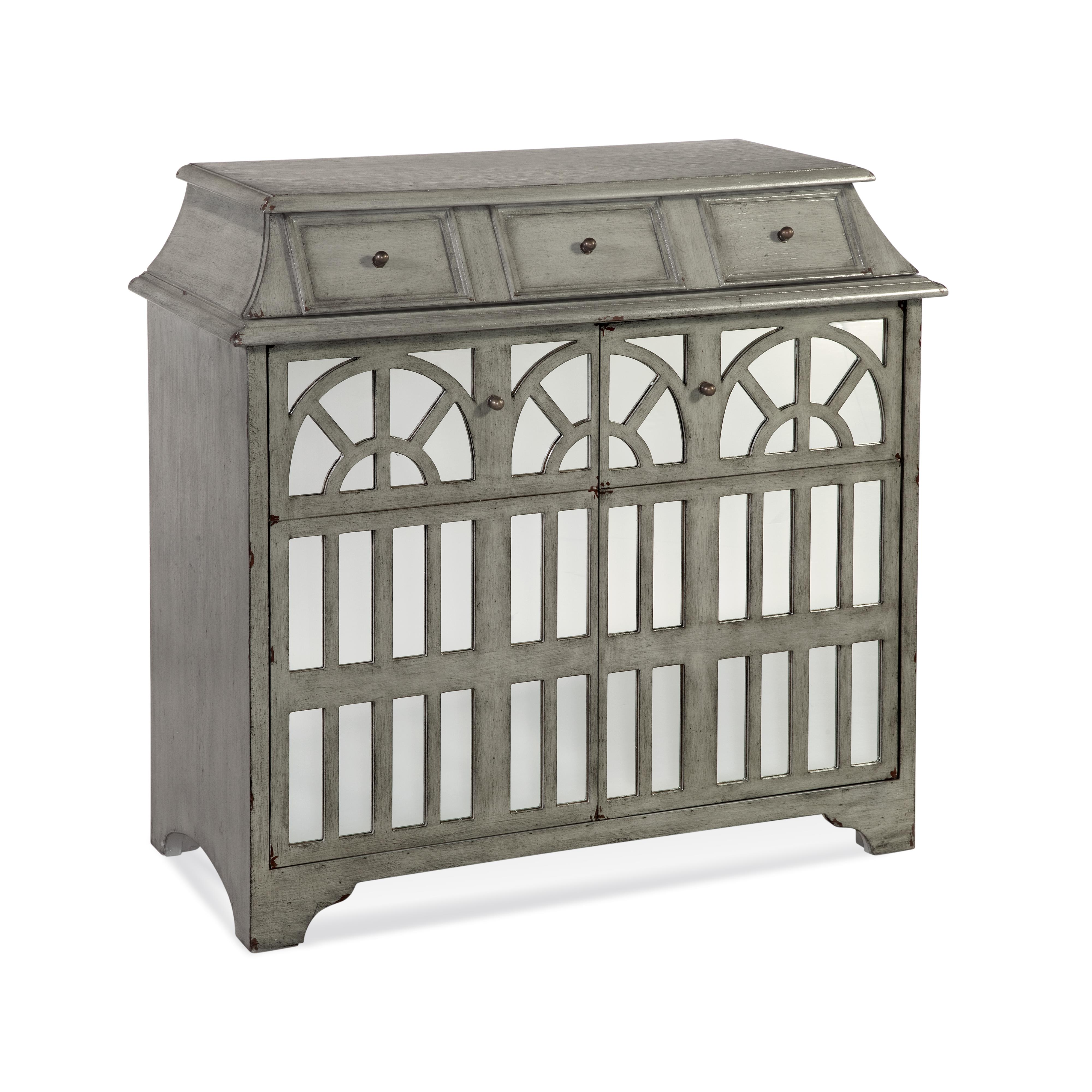 In-Town Borum Hospitality Cabinet by Bassett Mirror at Lapeer Furniture & Mattress Center