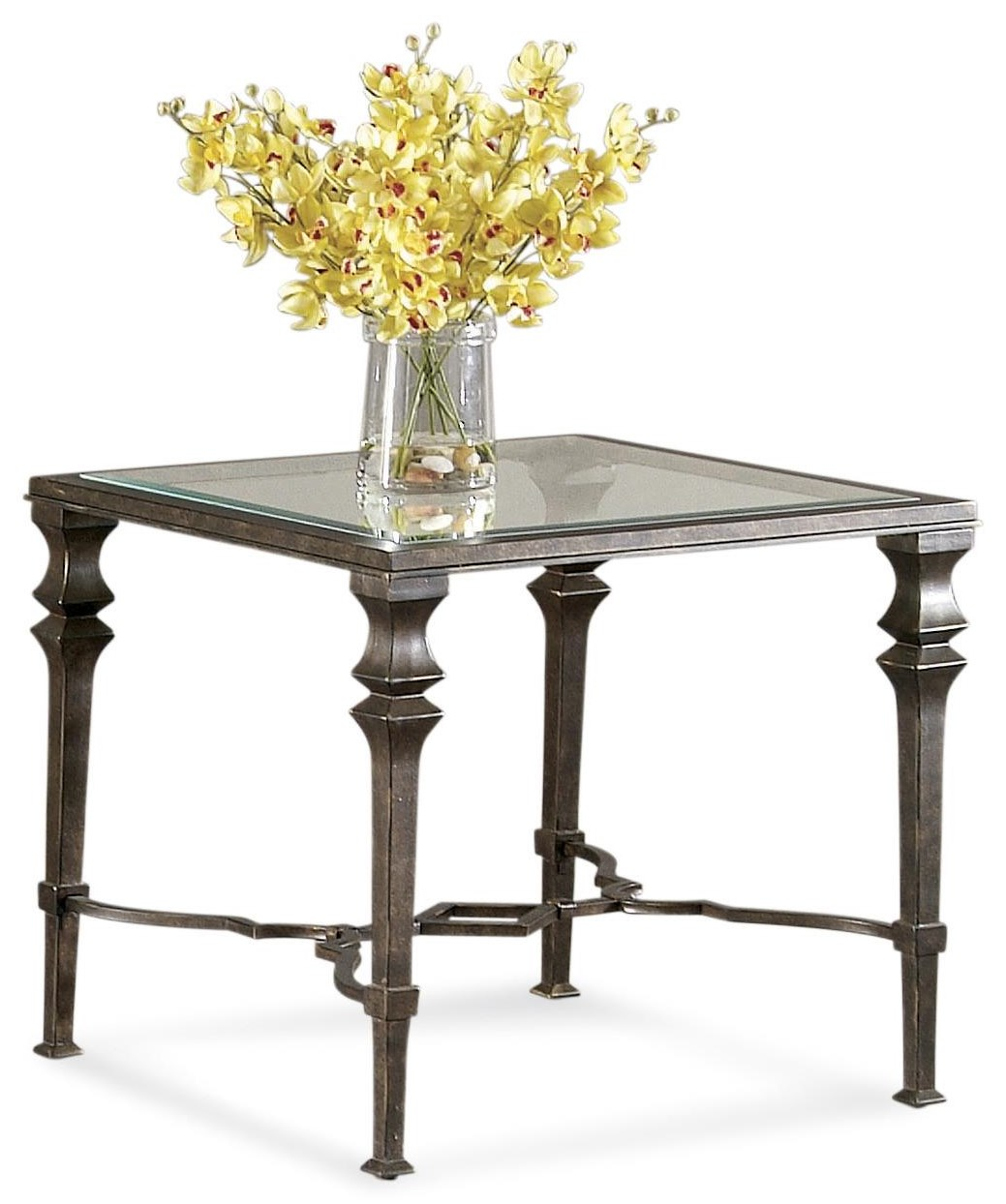 Lido Square End Table by Bassett Mirror at Johnny Janosik