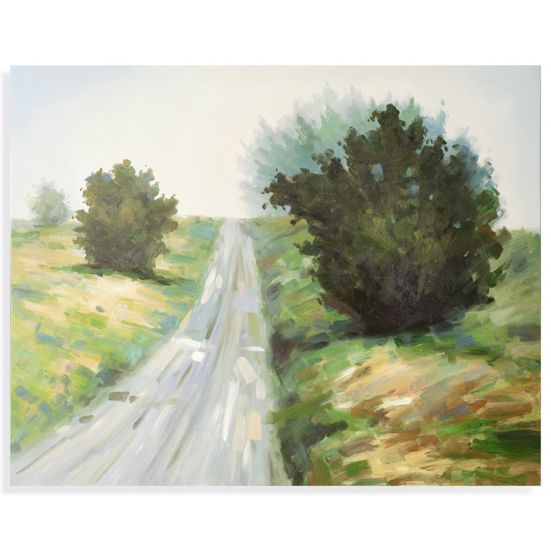 Old World Country Road Wall Art by Bassett Mirror at Alison Craig Home Furnishings