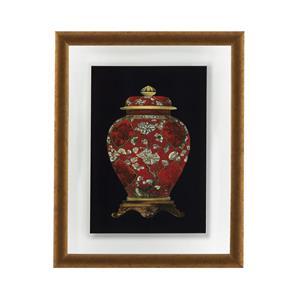 Red Porcelain Vase II