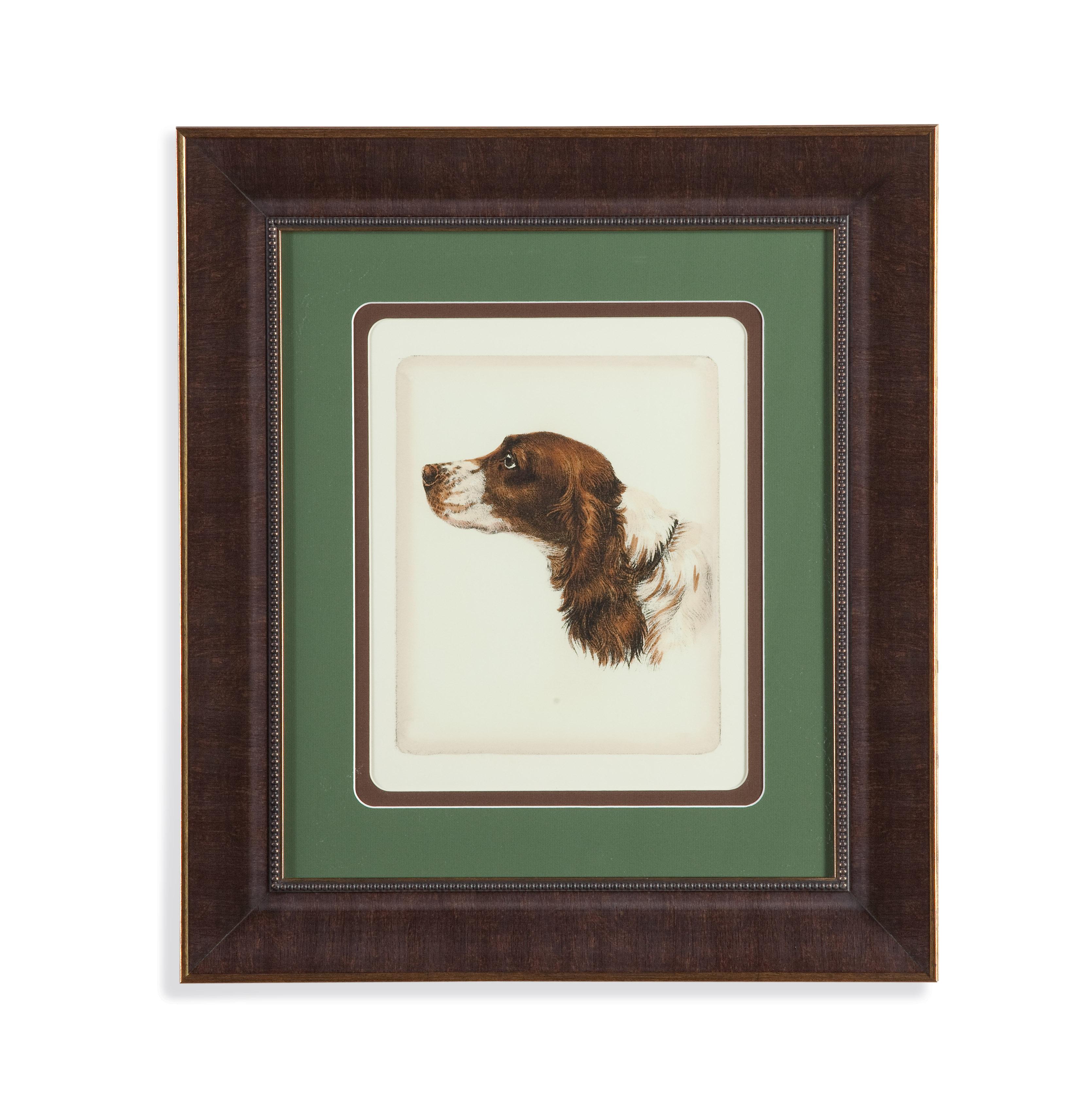 Old World Danchin Cocker Spaniel by Bassett Mirror at Alison Craig Home Furnishings