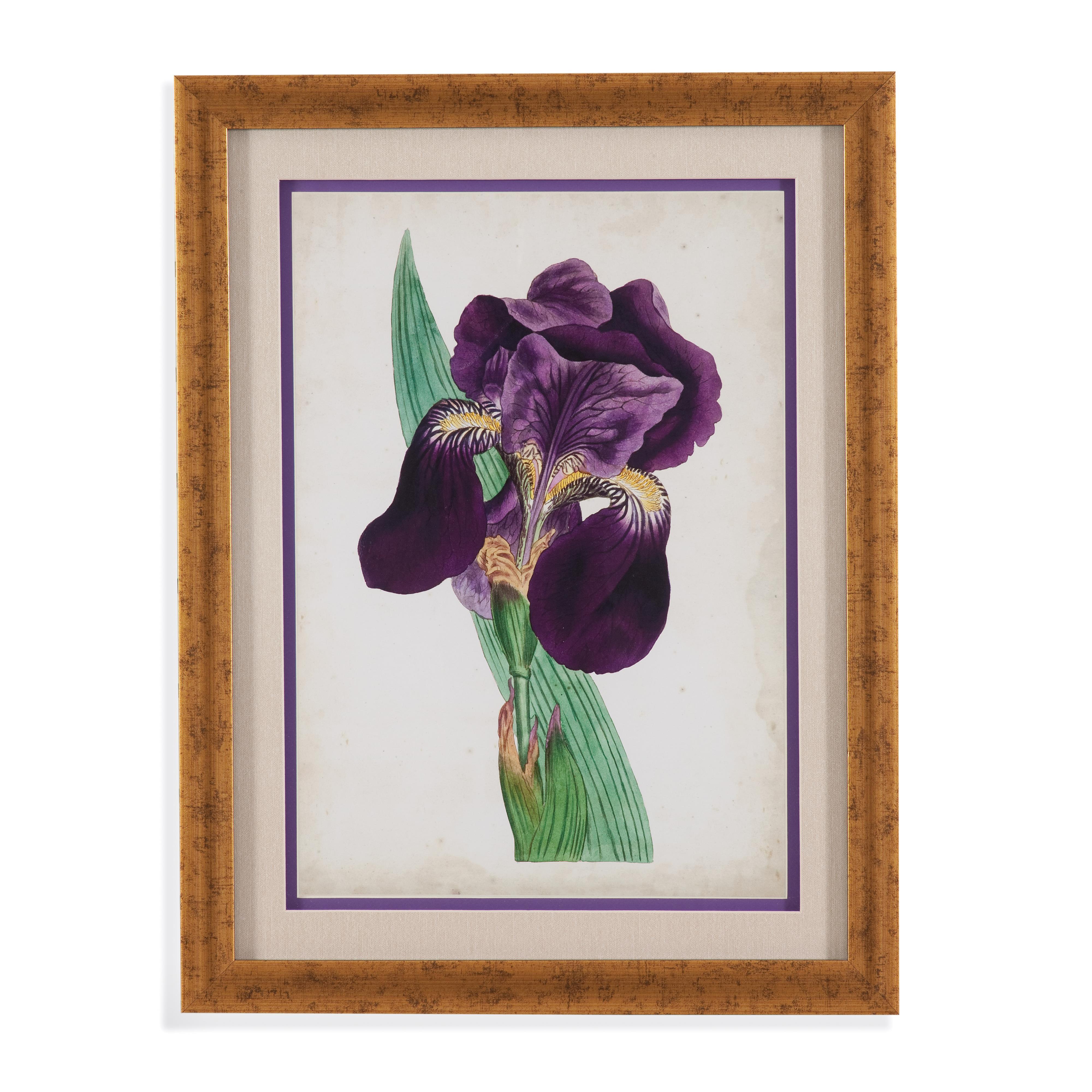 Old World Curtis Iris I by Bassett Mirror at Alison Craig Home Furnishings