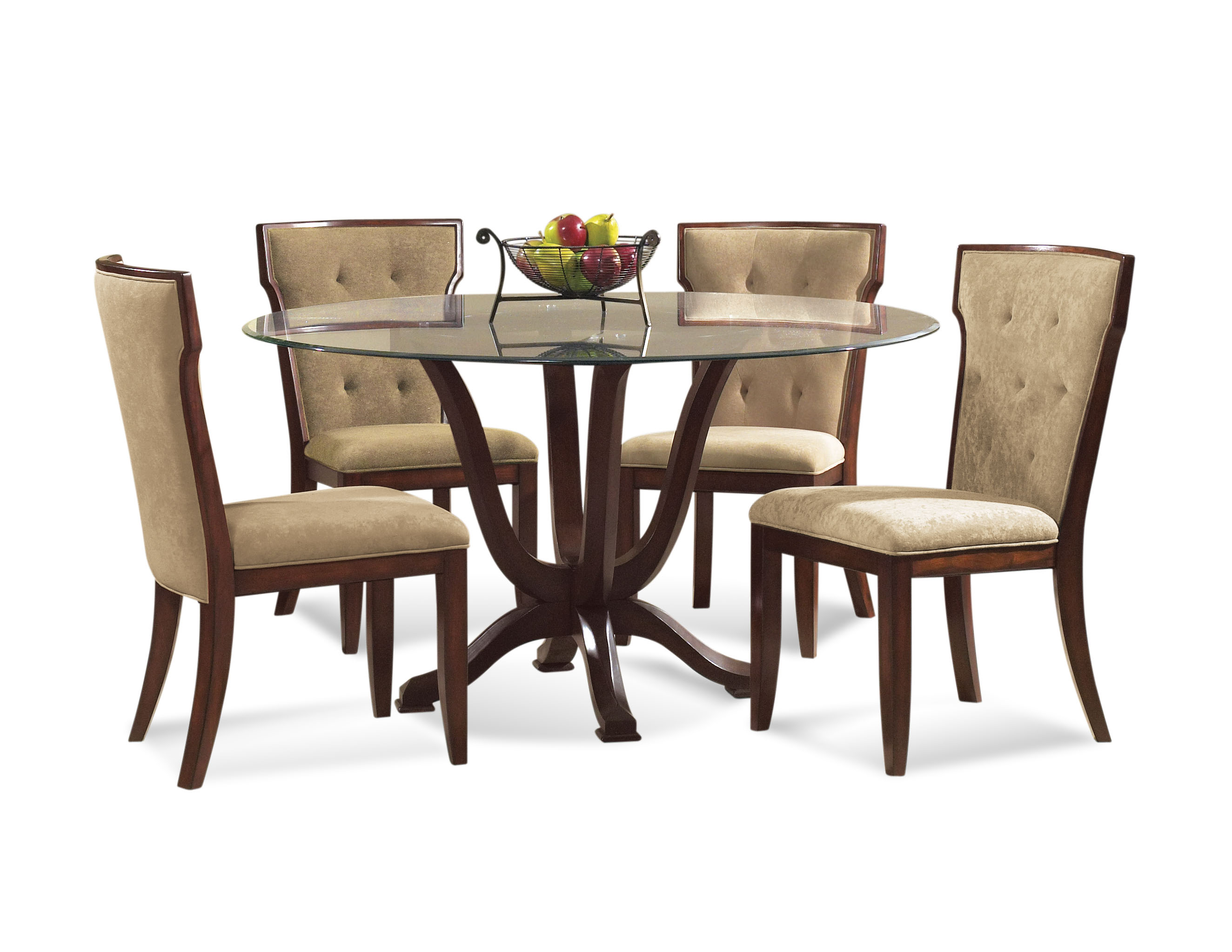 Old World Serenity Casual Dining Set by Bassett Mirror at Alison Craig Home Furnishings