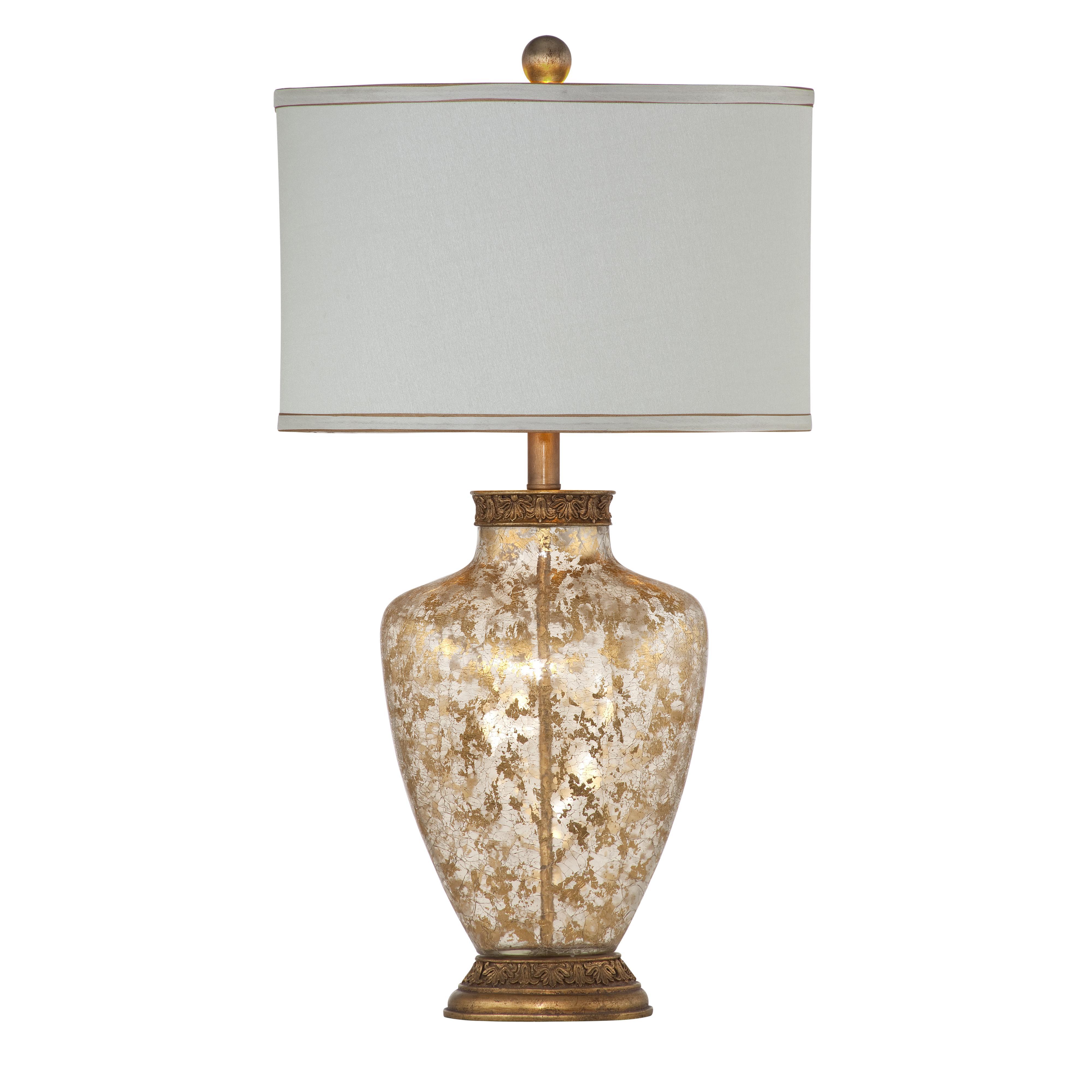 Old World Marlborough Table Lamp by Bassett Mirror at Alison Craig Home Furnishings