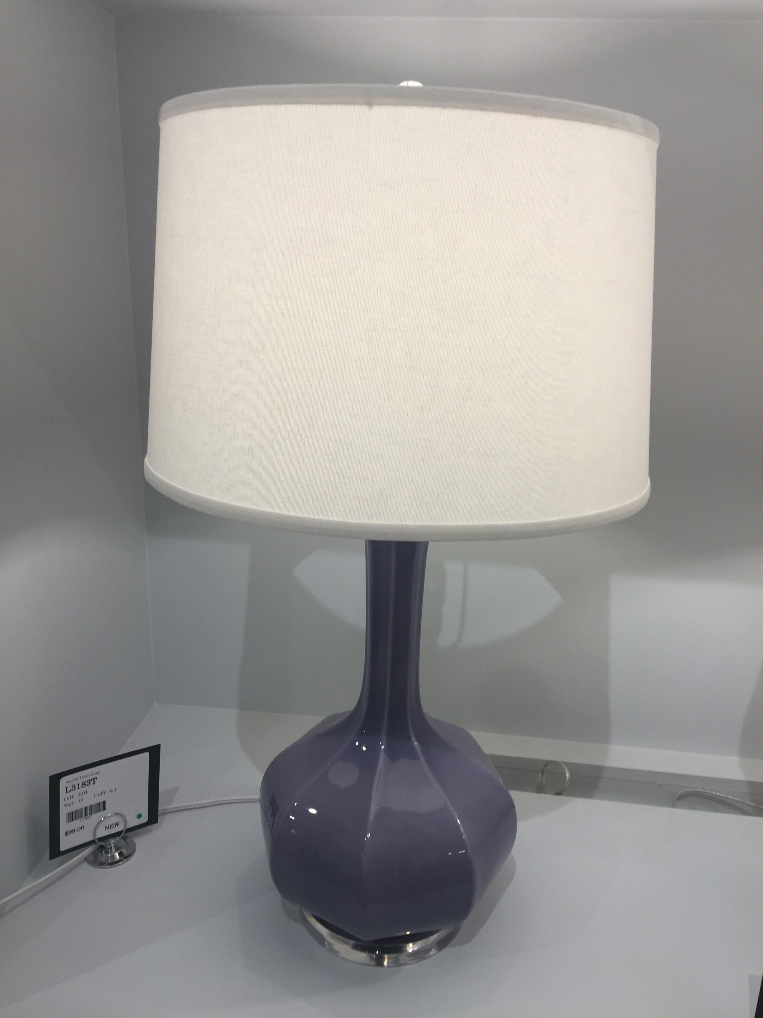 Old World Sophia Table Lamp by Bassett Mirror at Nassau Furniture and Mattress