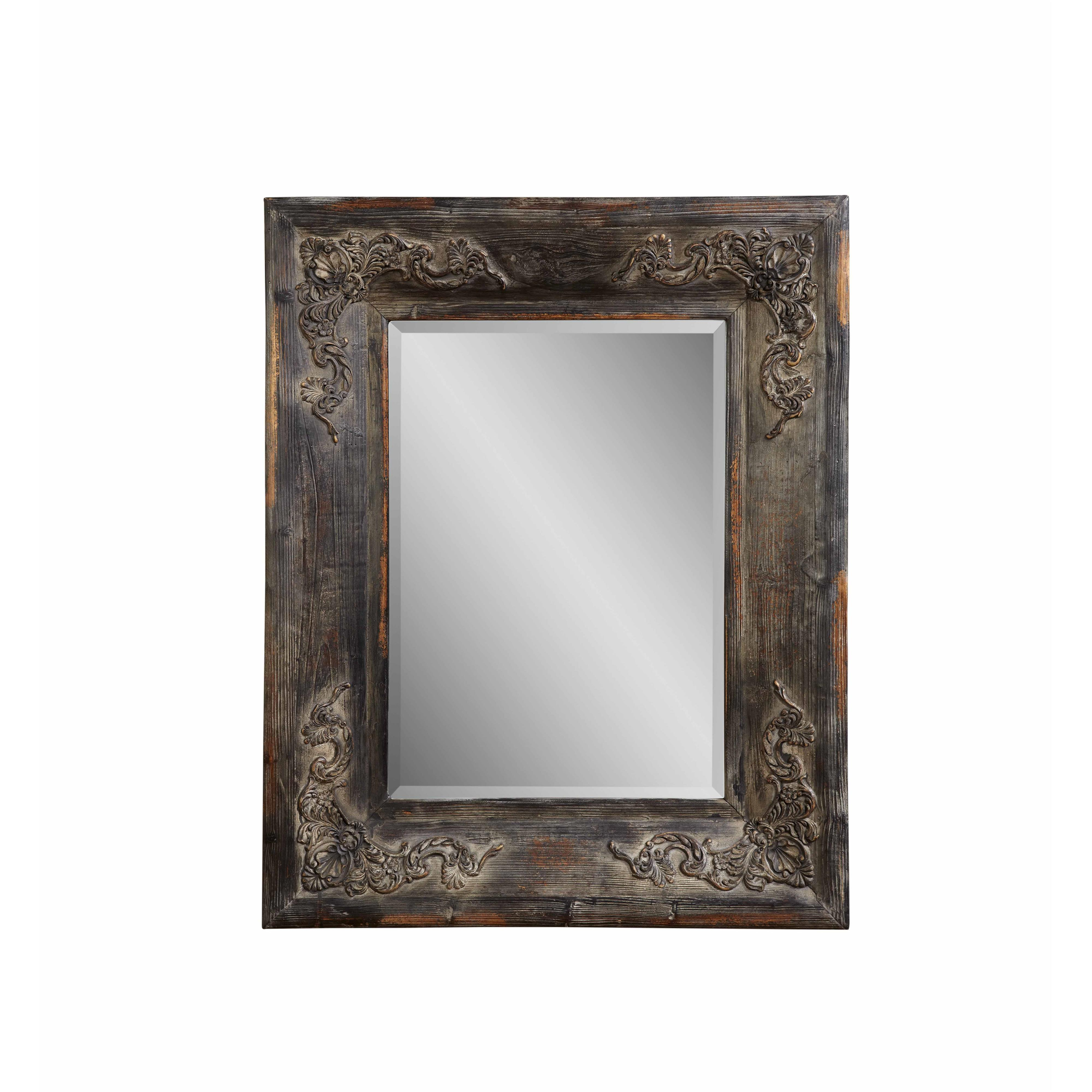 Old World Haversham Wall Mirror by Bassett Mirror at Alison Craig Home Furnishings