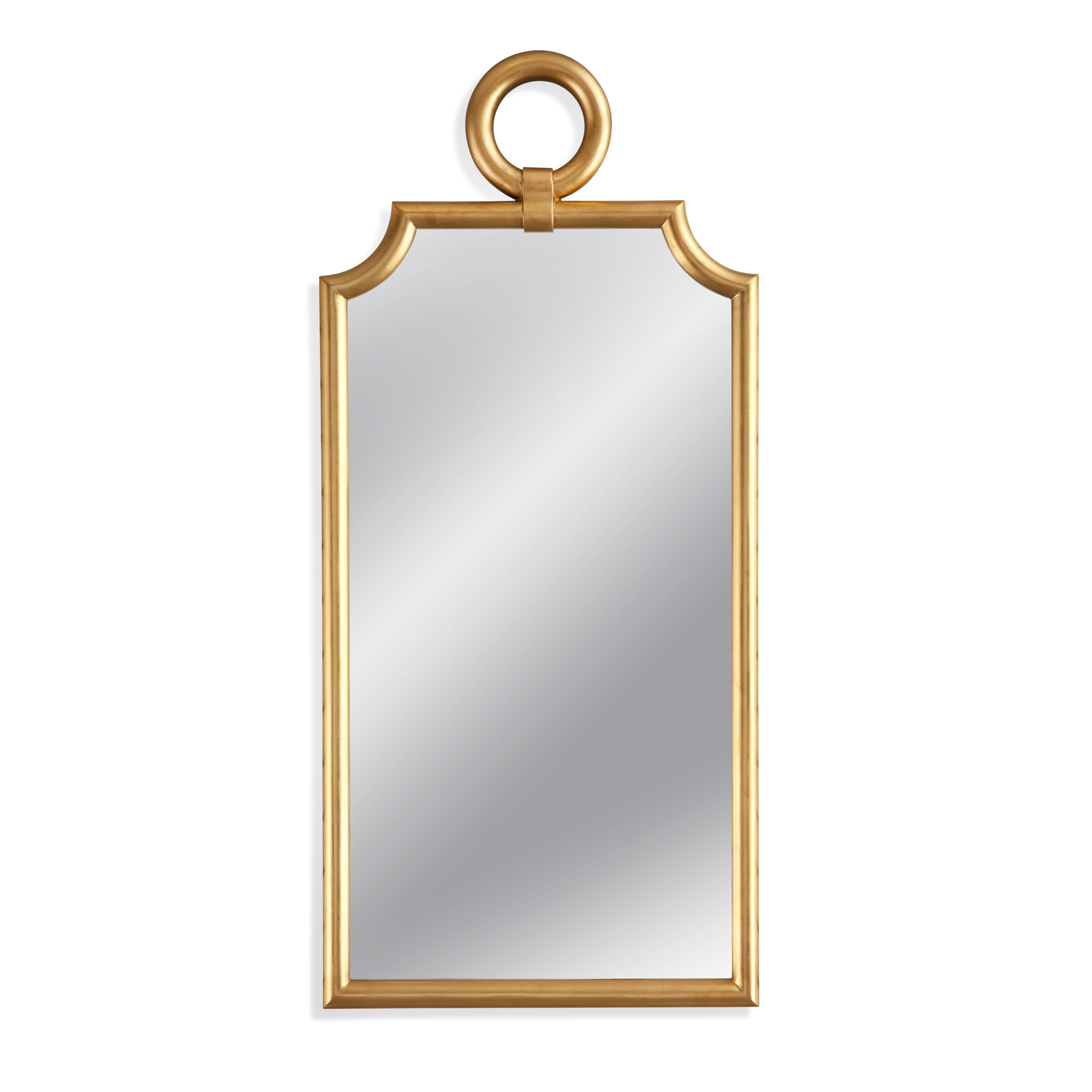 Old World Nahla Wall Mirror by Bassett Mirror at Alison Craig Home Furnishings
