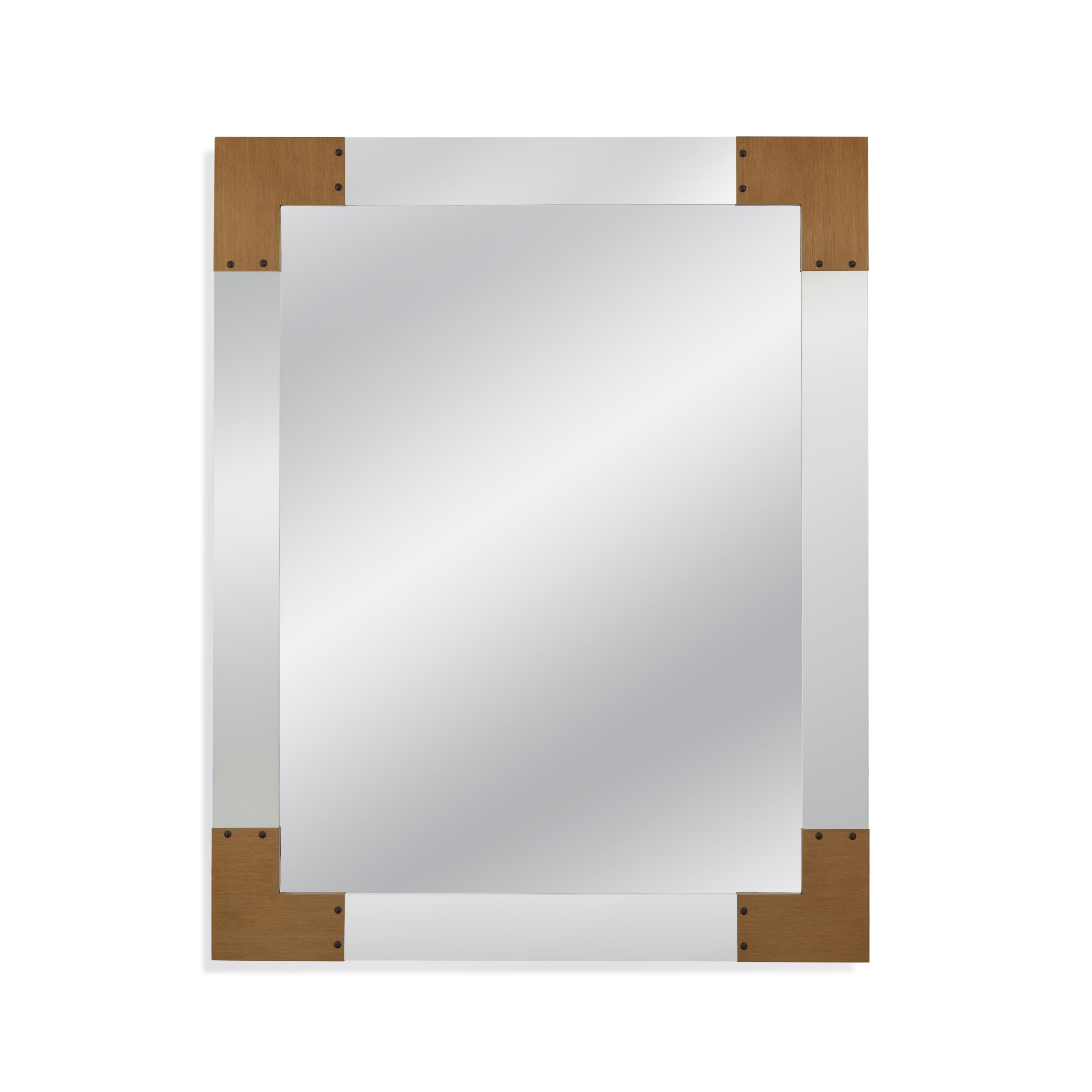 Old World Denton Wall Mirror by Bassett Mirror at Alison Craig Home Furnishings