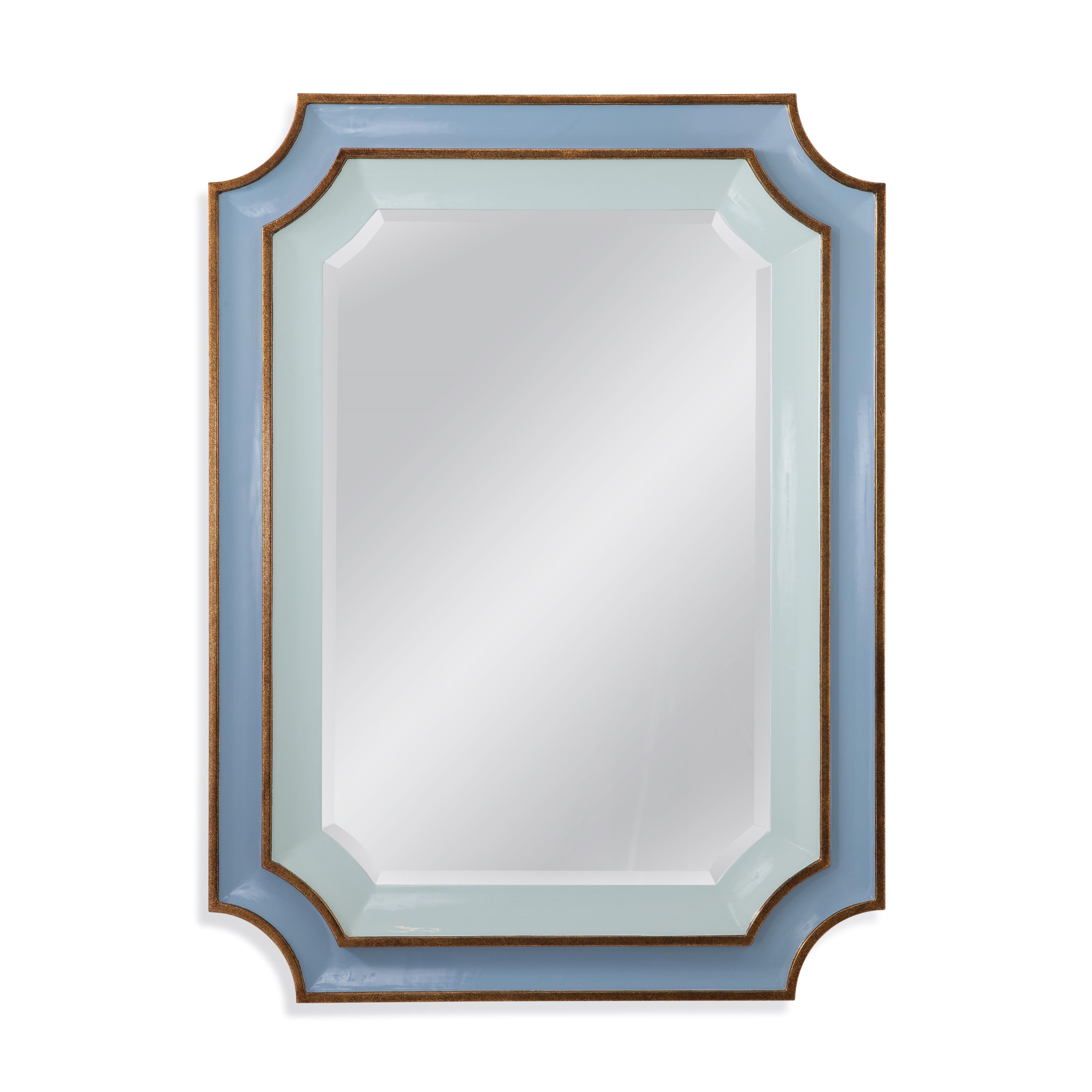 Old World Regency Wall Mirror by Bassett Mirror at Alison Craig Home Furnishings