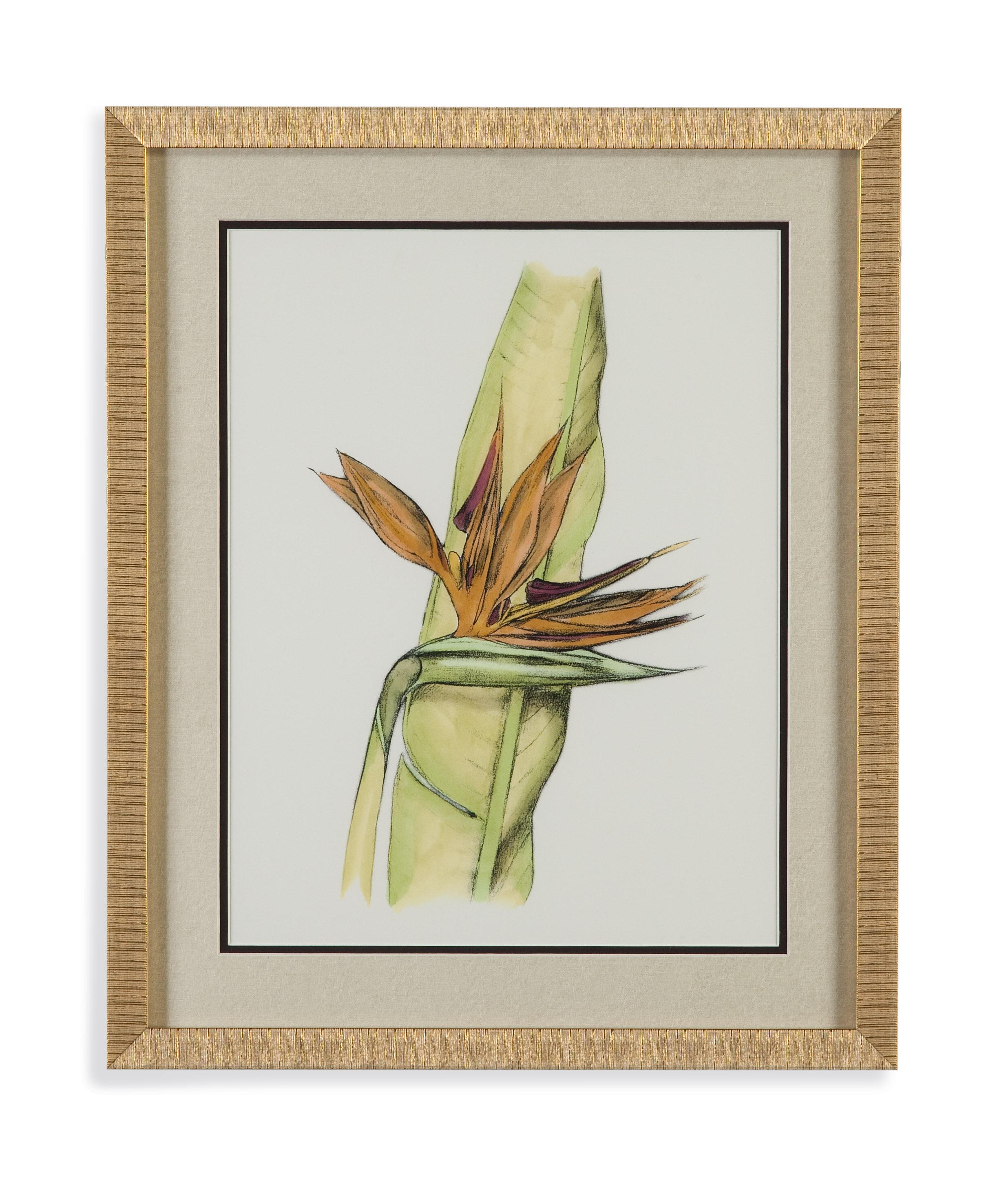 Pan Pacific Elegant Tropics I by Bassett Mirror at Alison Craig Home Furnishings