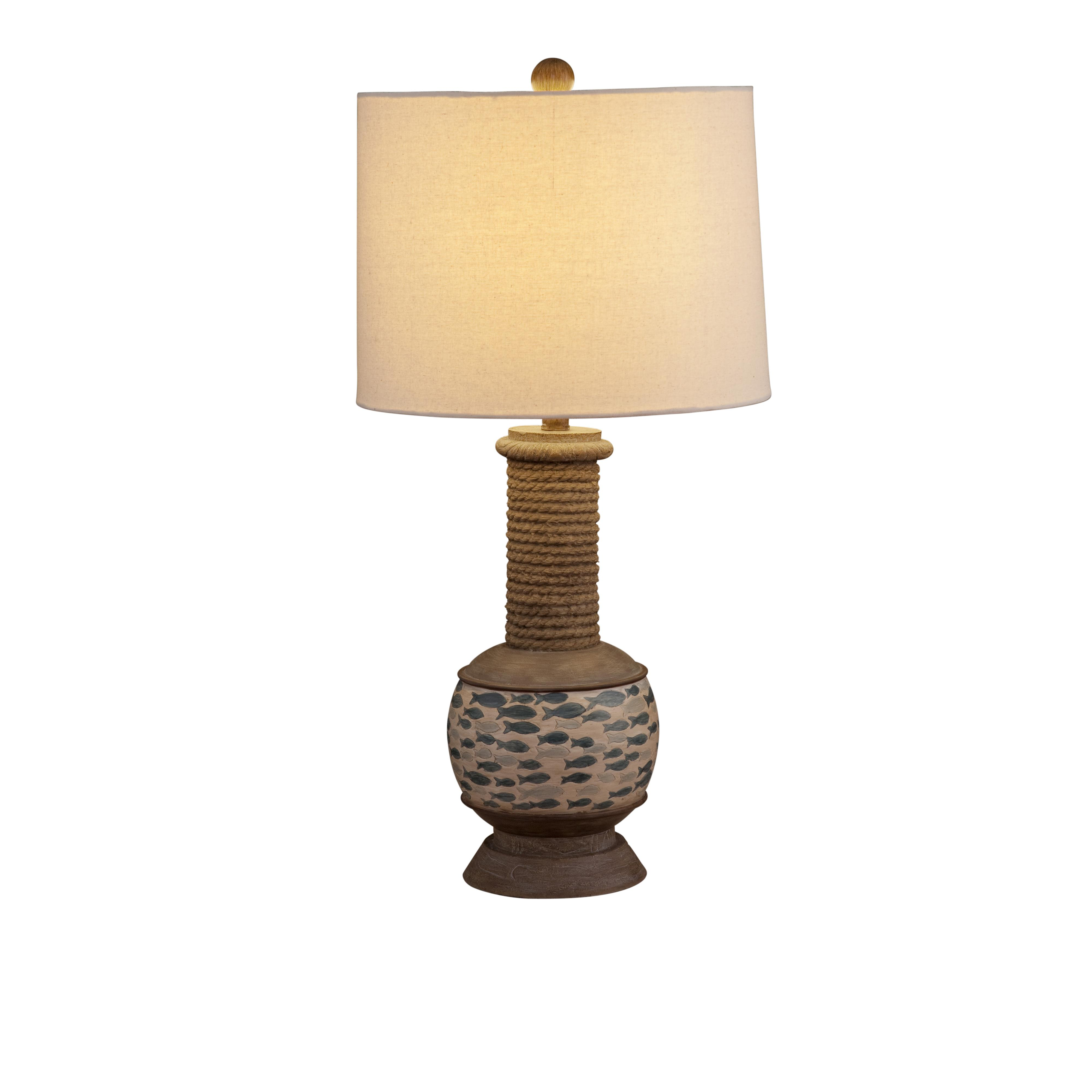 Pan Pacific Gulfstream Table Lamp by Bassett Mirror at Bullard Furniture