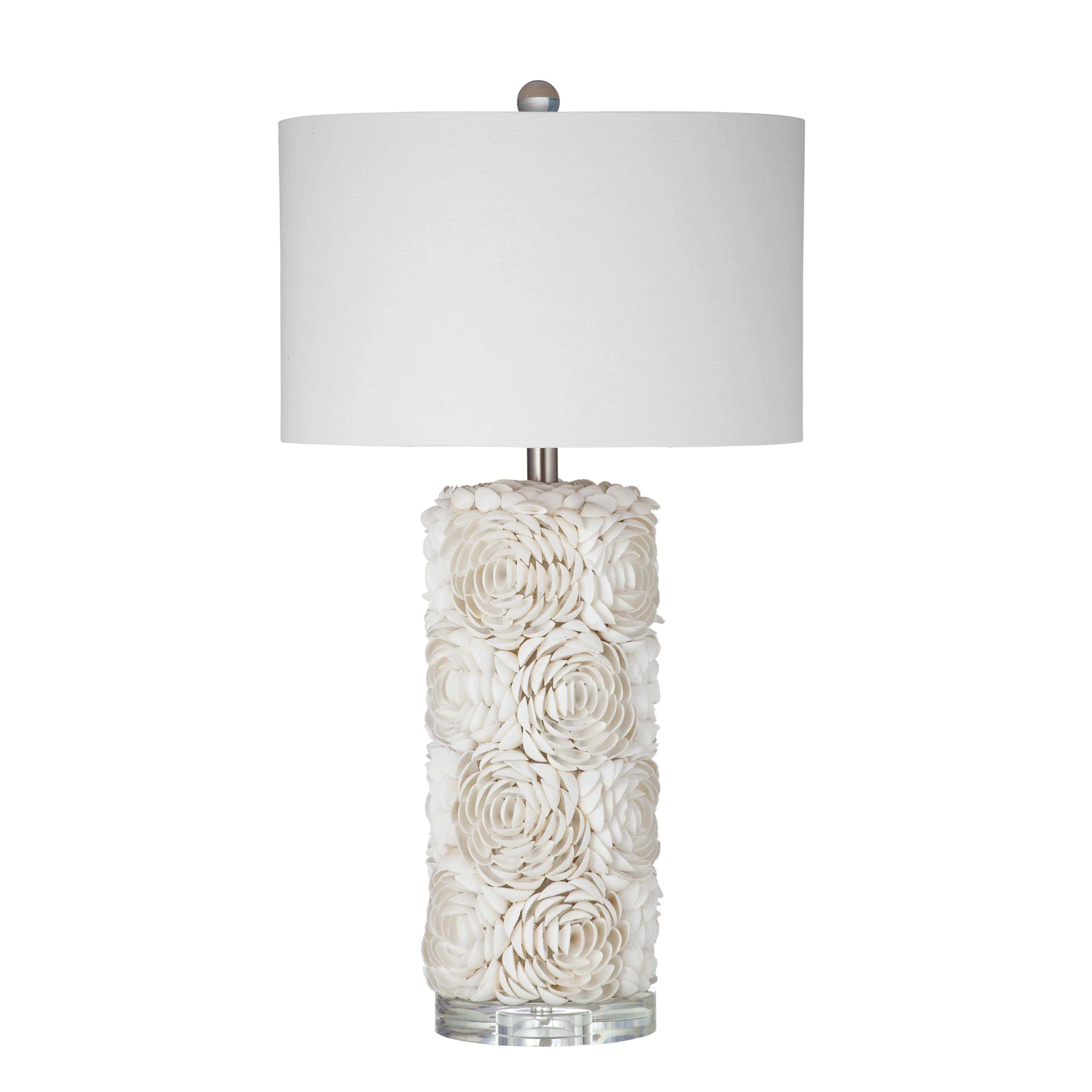 Pan Pacific Shell Table Lamp by Bassett Mirror at Nassau Furniture and Mattress