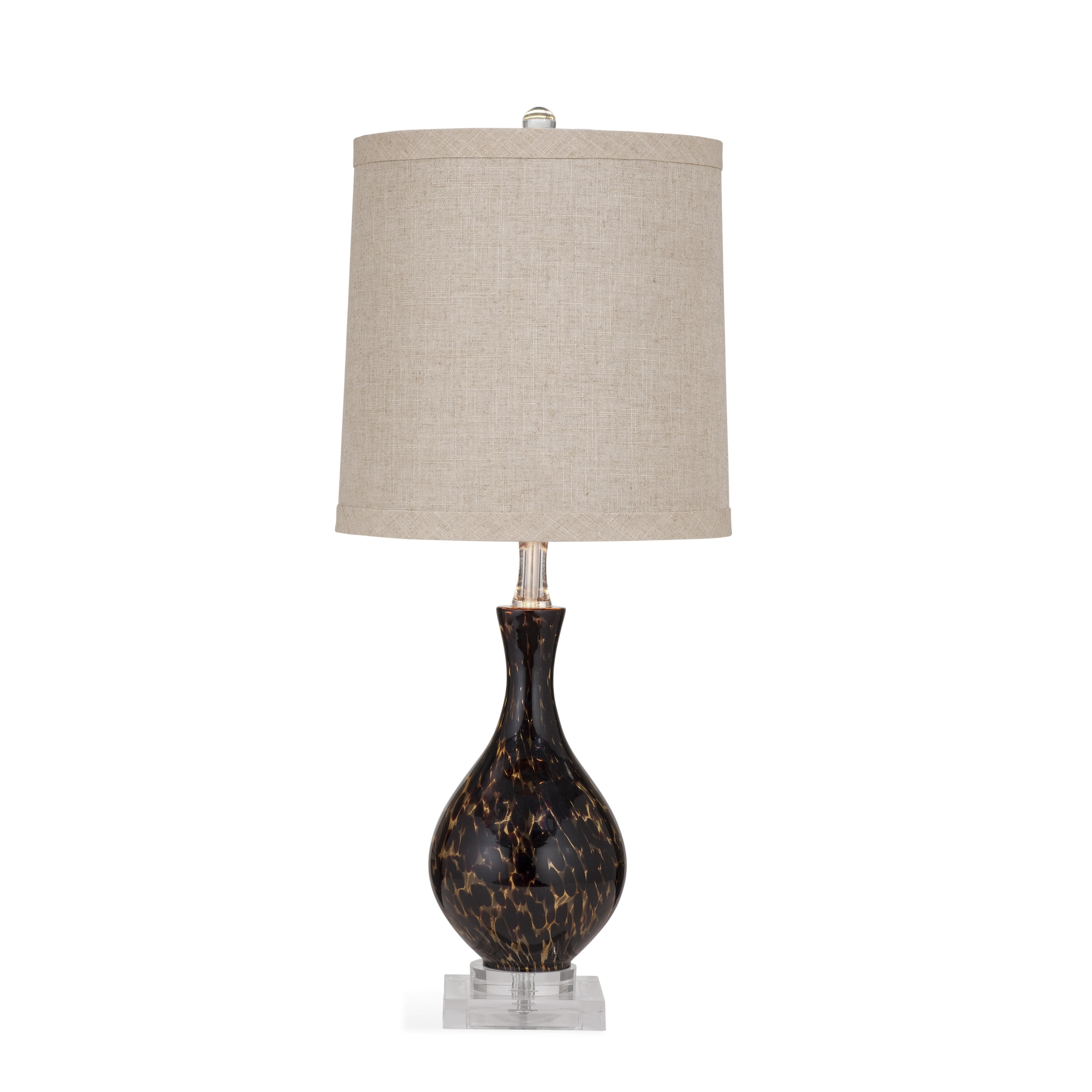 Pan Pacific Pembroke Table Lamp by Bassett Mirror at Alison Craig Home Furnishings
