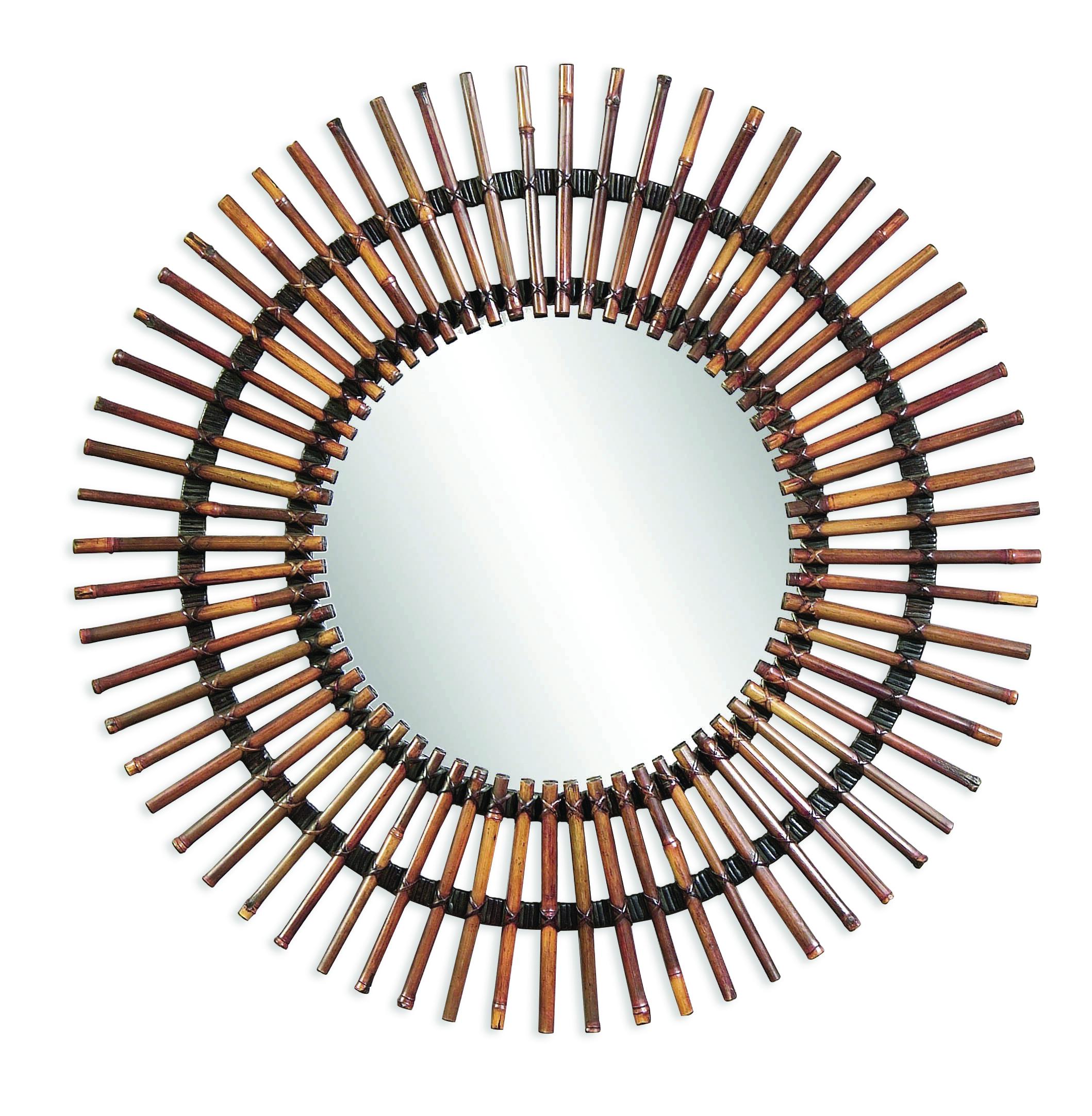 Pan Pacific Taipan Wall Mirror by Bassett Mirror at Nassau Furniture and Mattress
