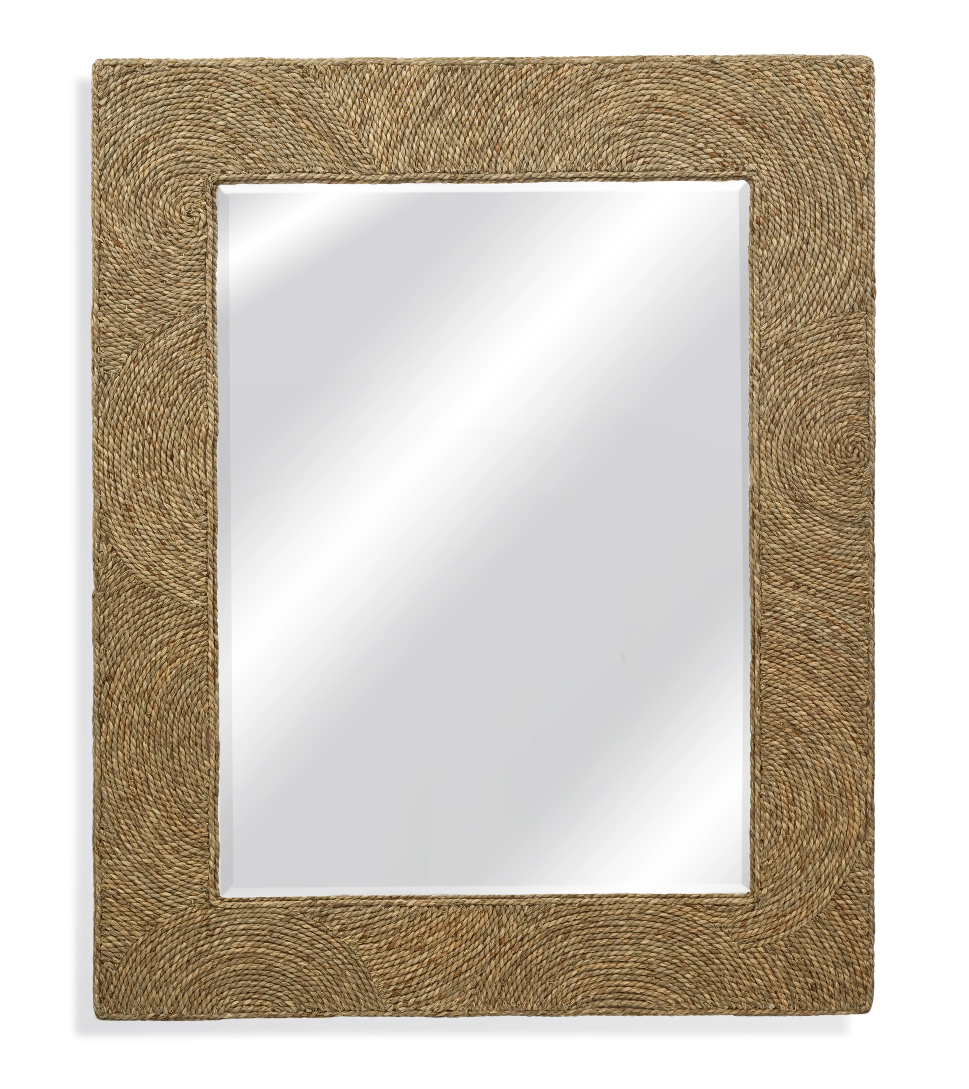 Pan Pacific Maren Wall Mirror by Bassett Mirror at Bullard Furniture