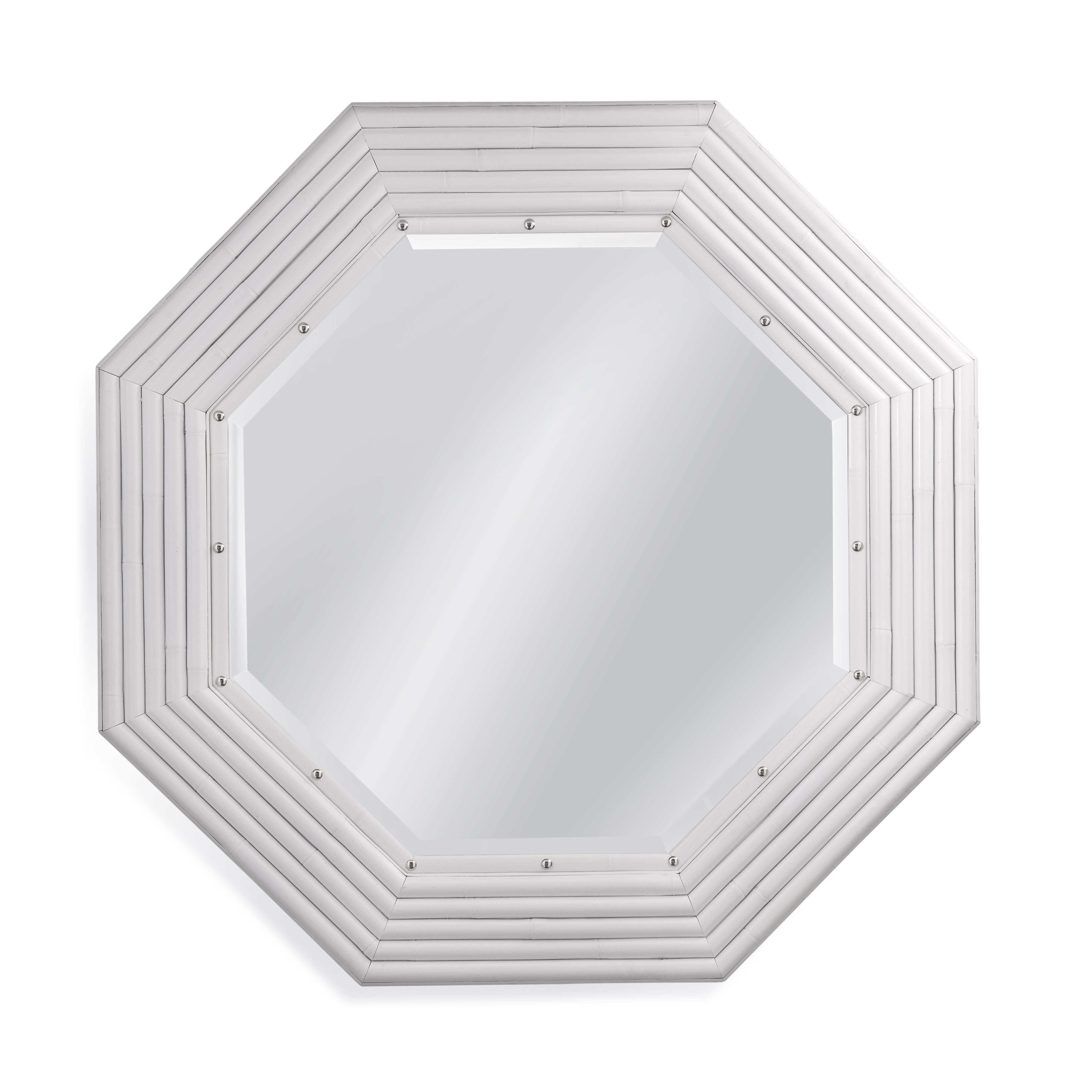 Pan Pacific Sanford Wall Mirror by Bassett Mirror at Alison Craig Home Furnishings