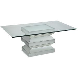 Bassett Mirror Paparazzo Rectangle Cocktail Table